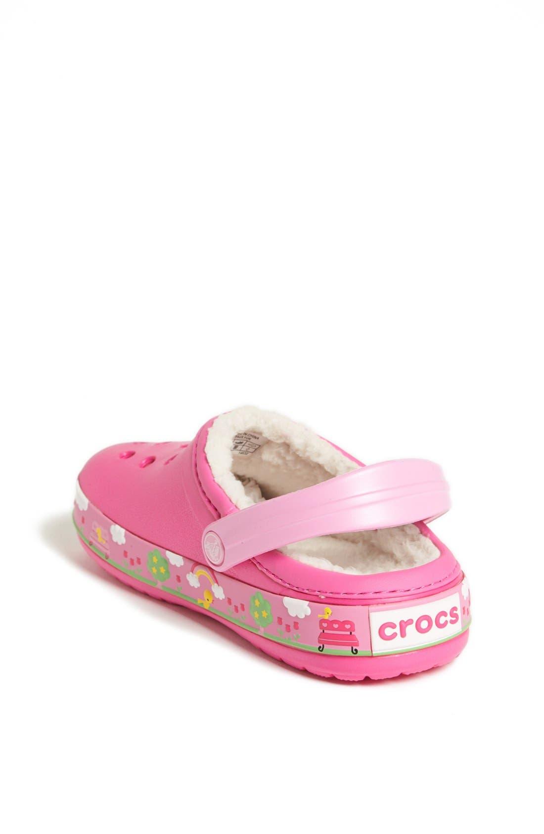 Alternate Image 2  - CROCS™ 'Mammoth - Hello Kitty®' Clog (Walker & Toddler)
