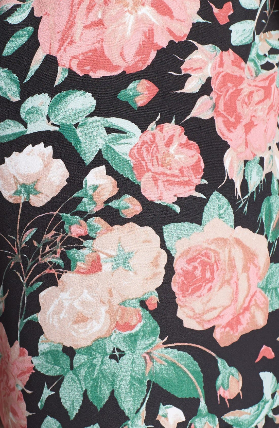 Alternate Image 3  - Lovers + Friends 'Bright Eyes' Floral Print Pants
