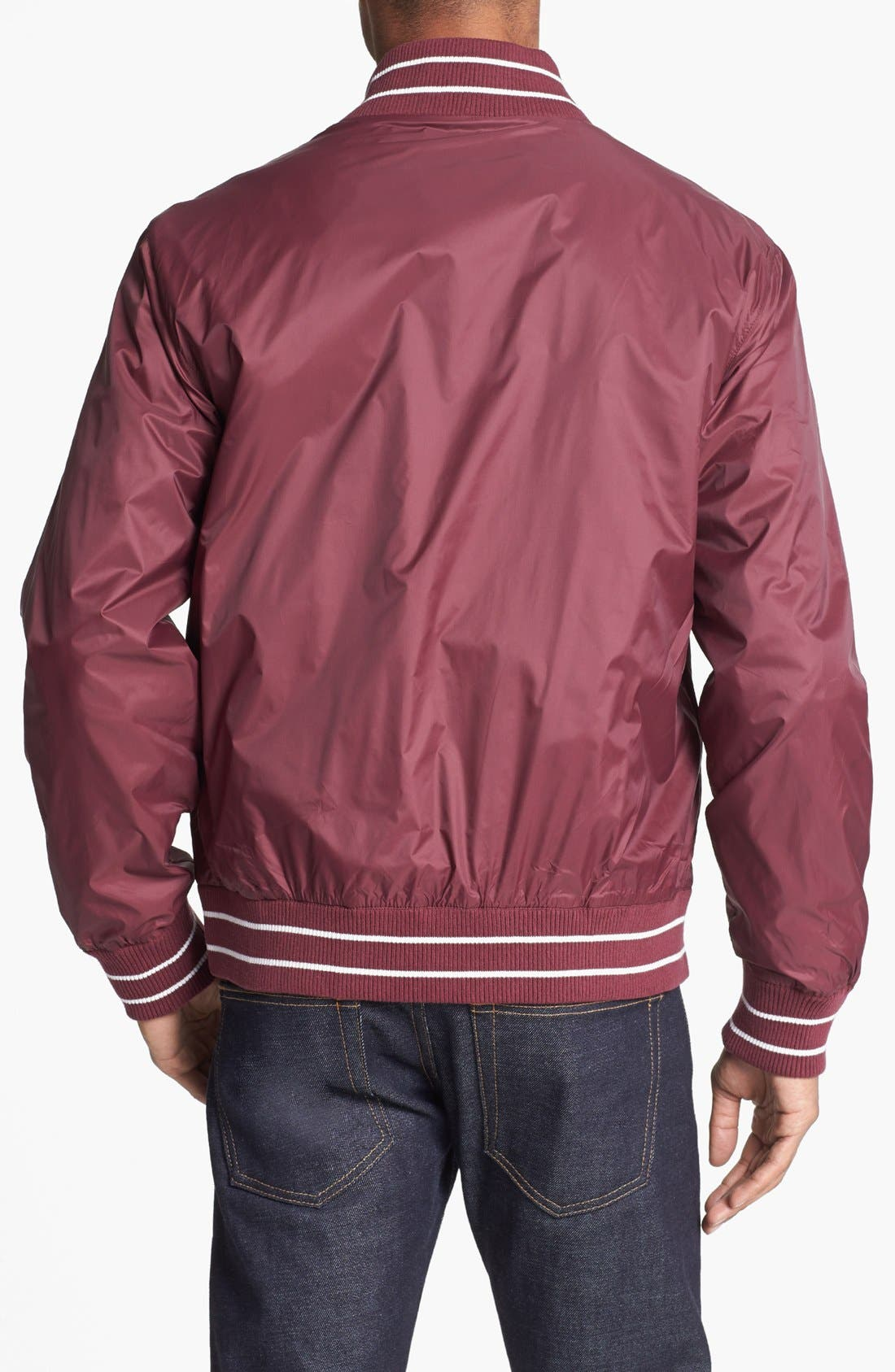 Alternate Image 2  - Fred Perry Tipped Bomber Jacket