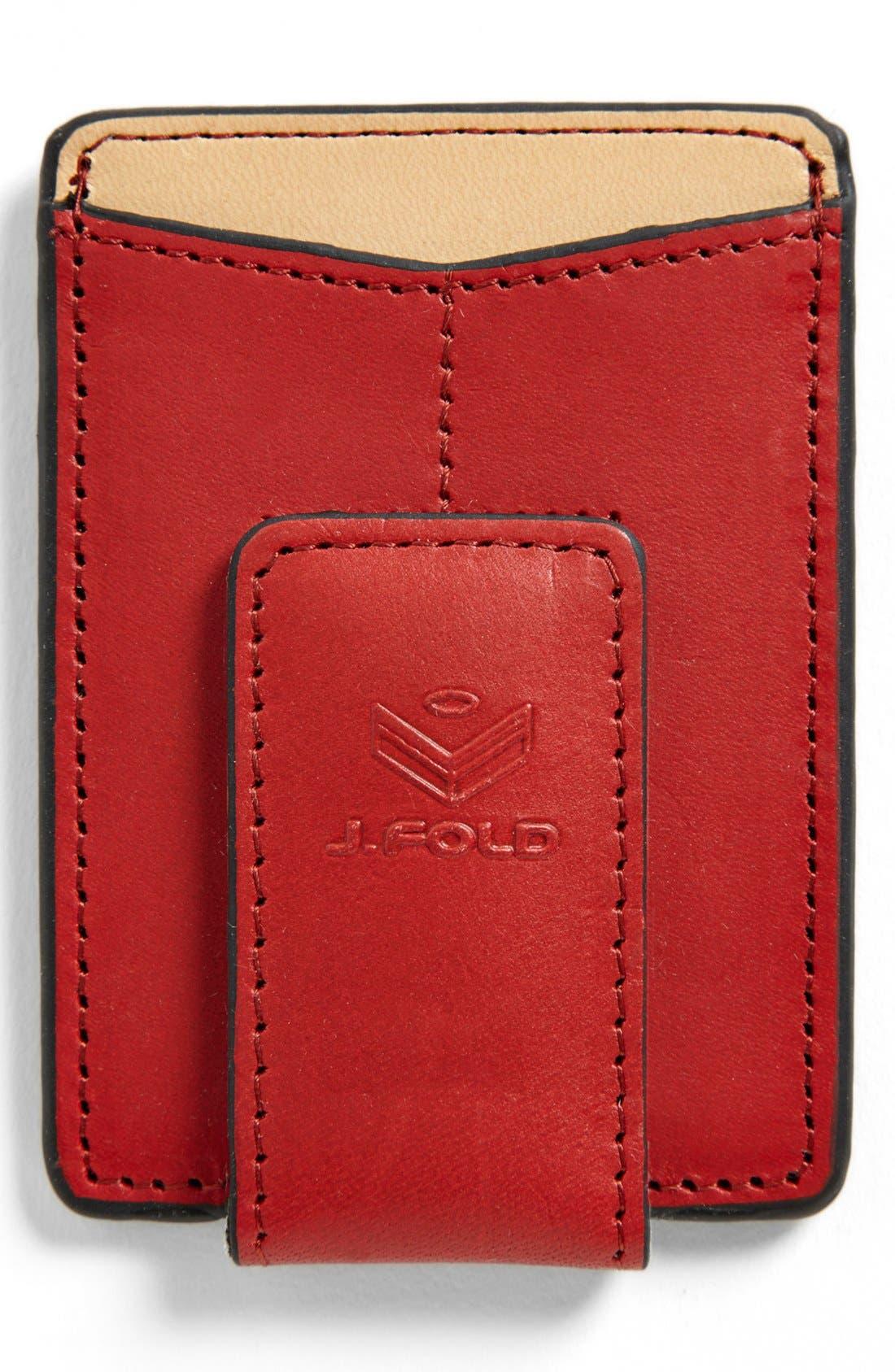 Alternate Image 2  - J. Fold 'Thunderbird' Money Clip Wallet