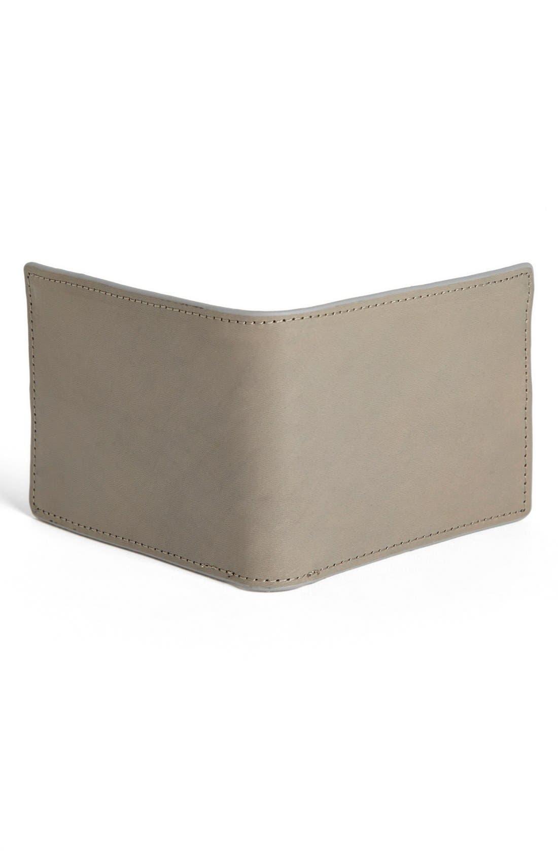 Alternate Image 3  - J Fold 'Havana' Slim Fold Wallet
