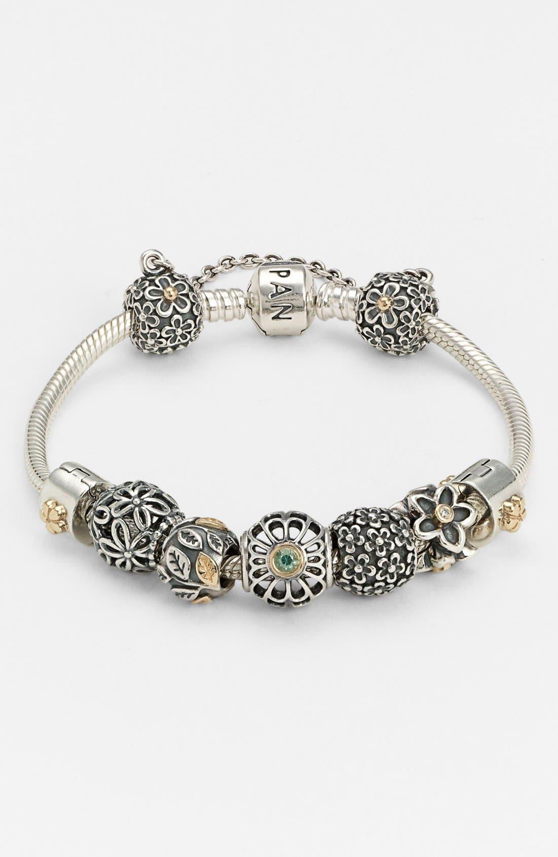 Alternate Image 1 Selected - PANDORA Bracelet & Charms