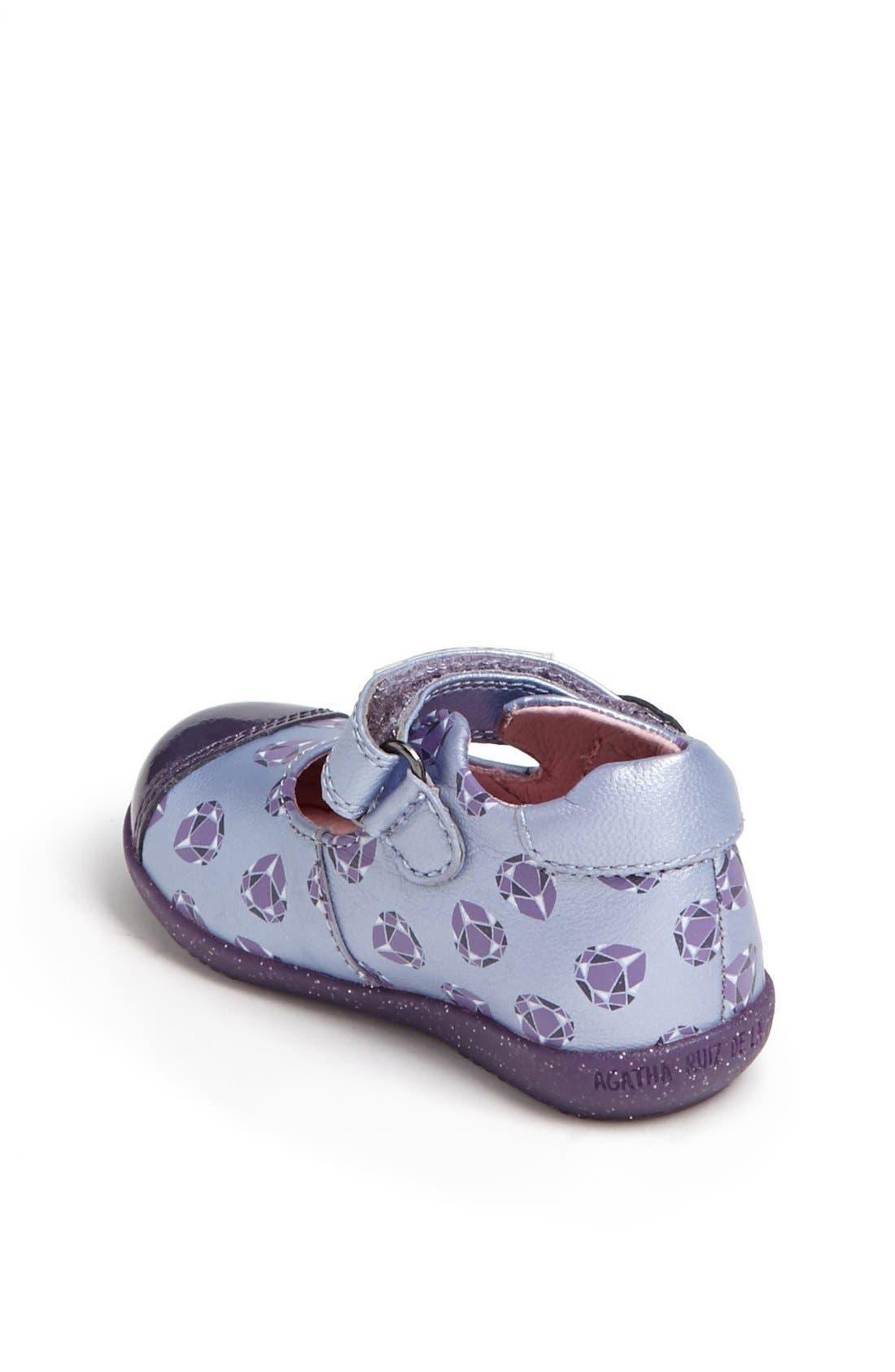 Alternate Image 2  - Agatha Ruiz de la Prada 'Diamond' Mary Jane (Baby, Walker & Toddler)