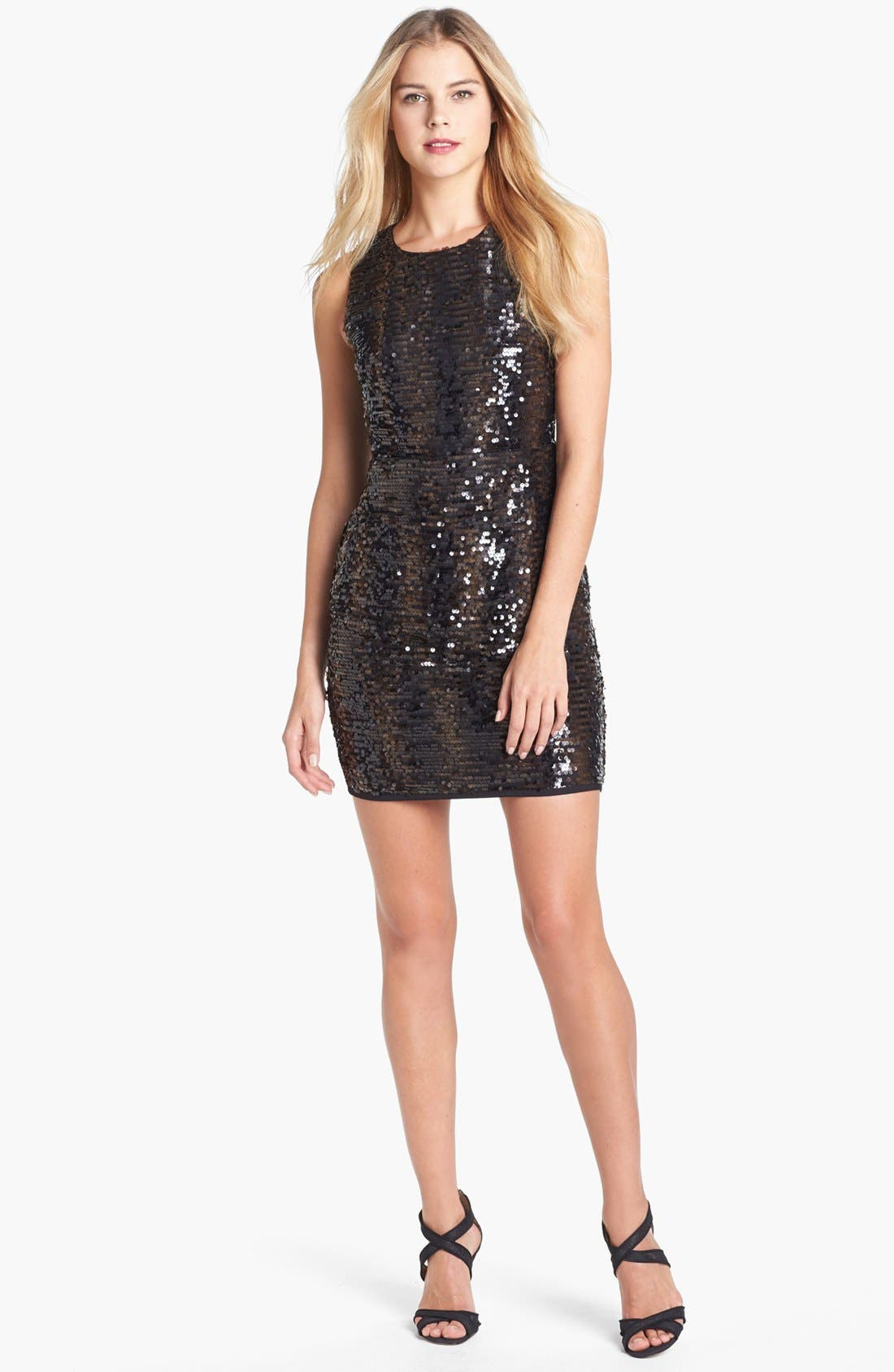 Alternate Image 1 Selected - Vince Camuto Sequin Dress