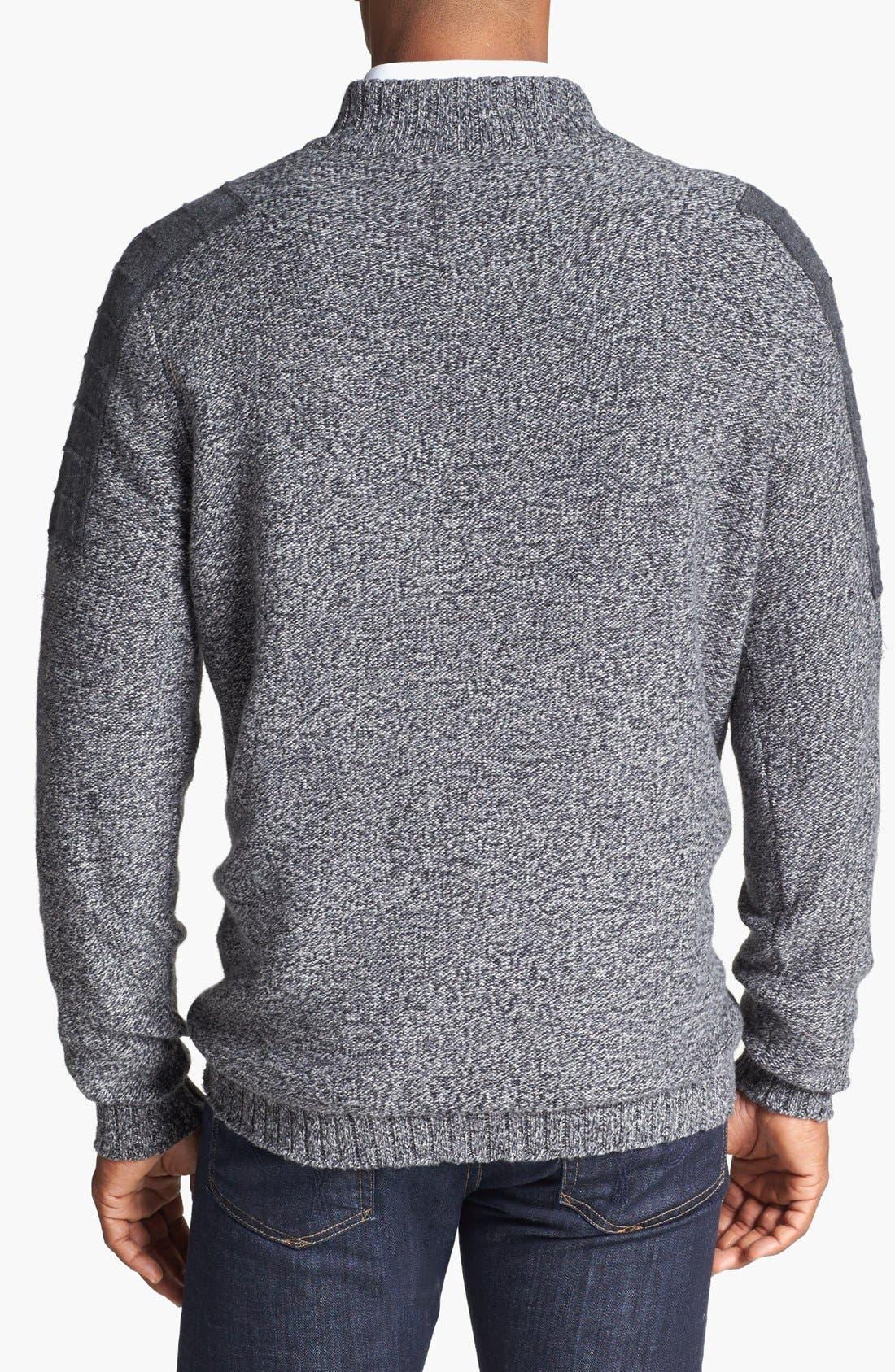 Alternate Image 2  - Cutter & Buck 'Cabot' Half Zip Sweater