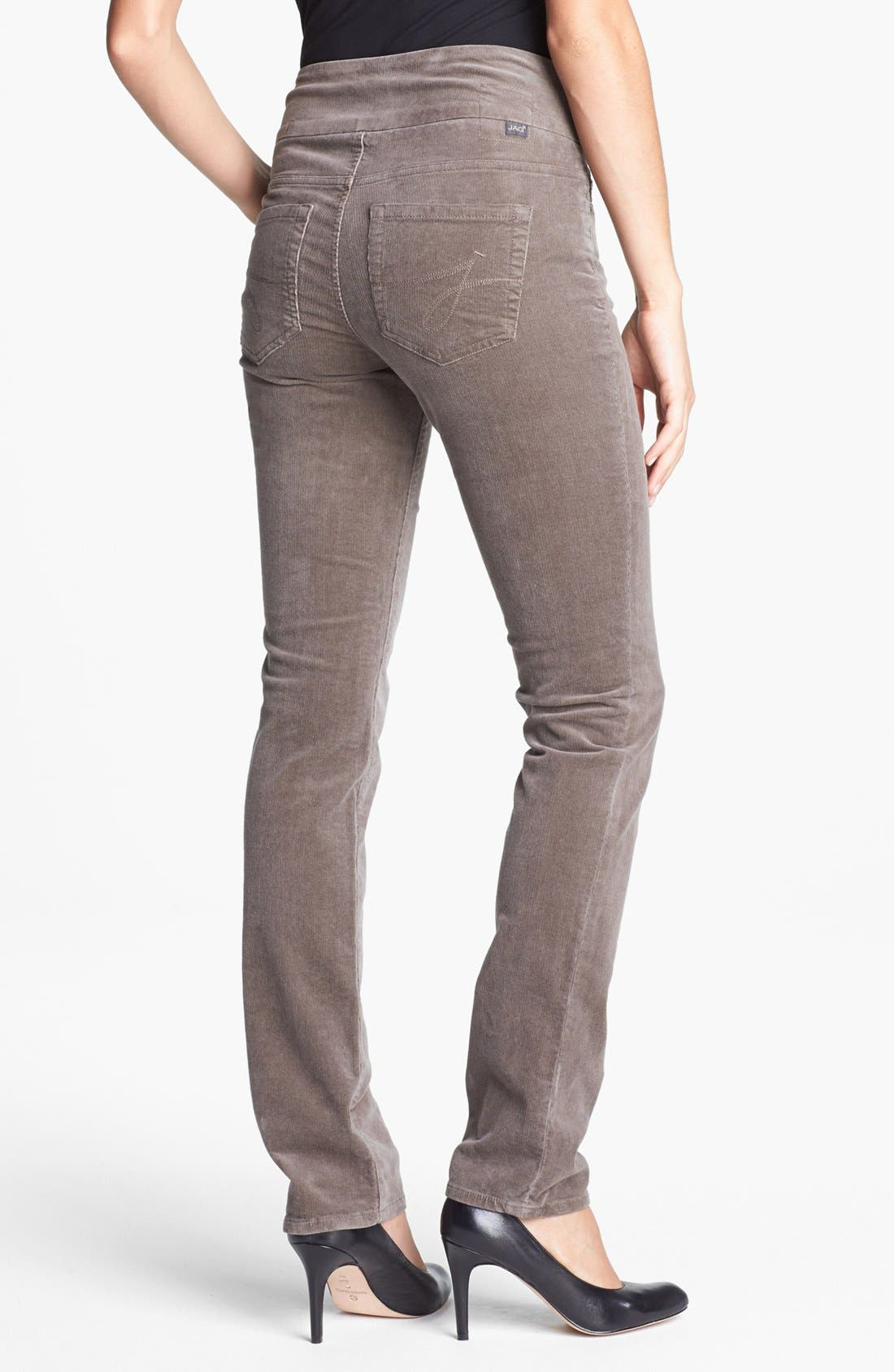Alternate Image 2  - Jag Jeans 'Peri' Straight Leg Corduroy Pants (Petite)