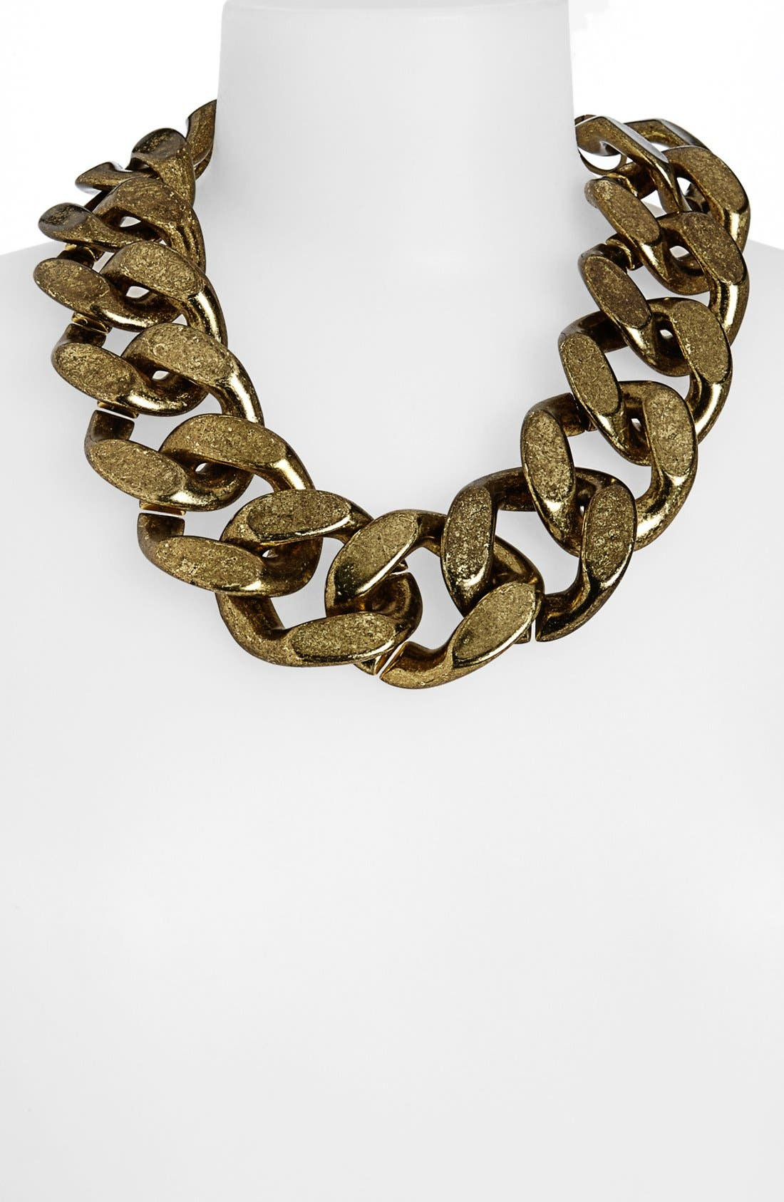 Alternate Image 1 Selected - Topshop Large Chunky Chain Necklace