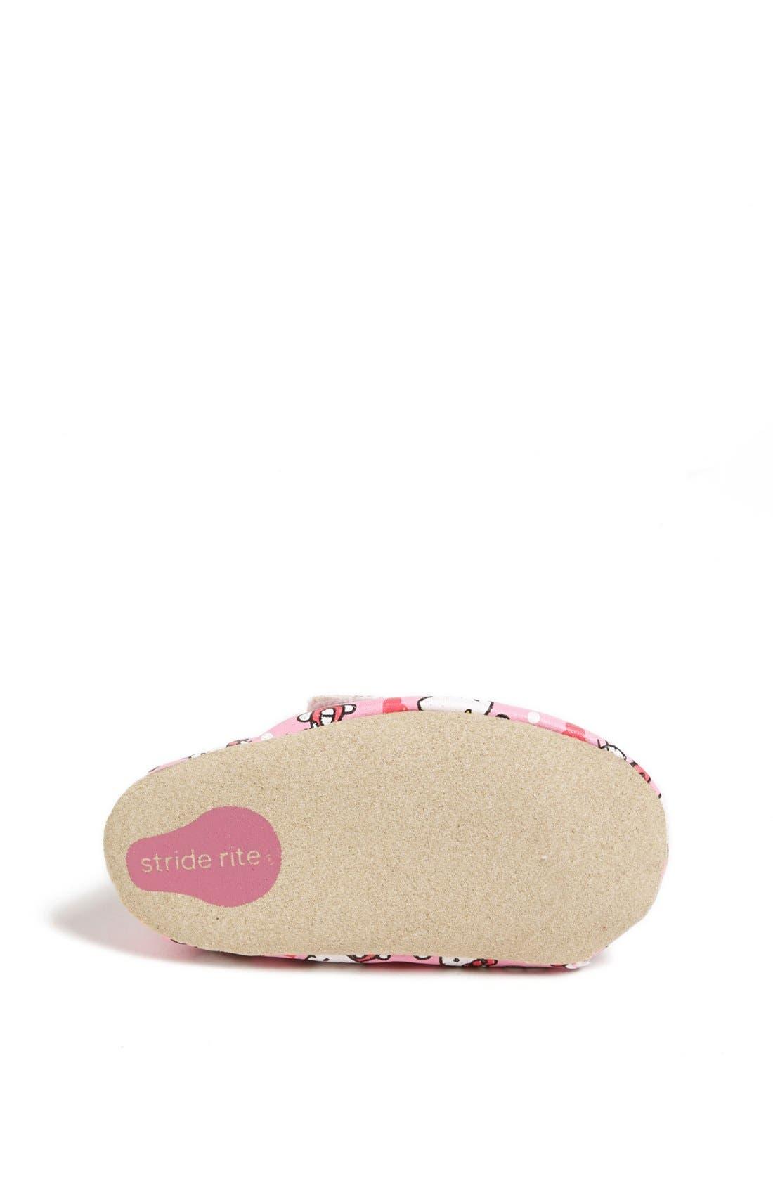 Alternate Image 4  - Stride Rite 'Hello Kitty®' Crib Shoe (Baby Girls)