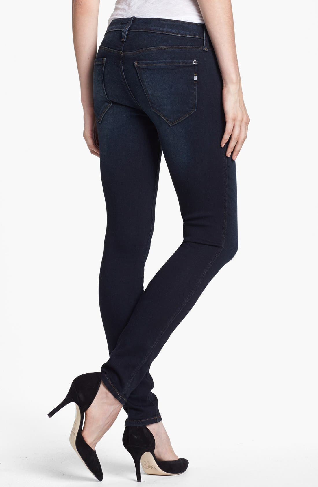 Alternate Image 2  - Genetic 'The Shya' Cigarette Skinny Jeans (Nomad)
