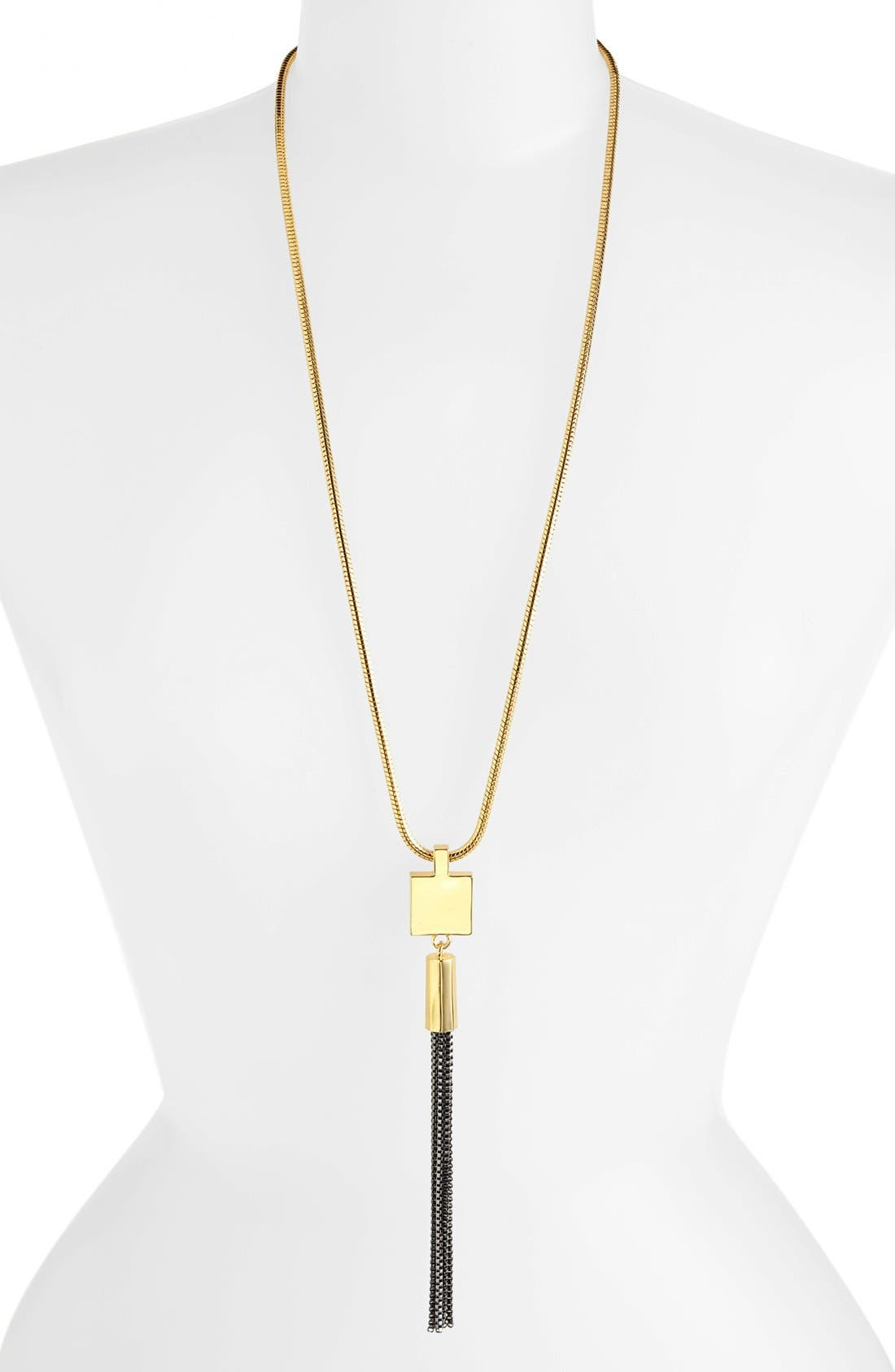 Alternate Image 1 Selected - Vince Camuto 'Tour of Duty' Tassel Necklace