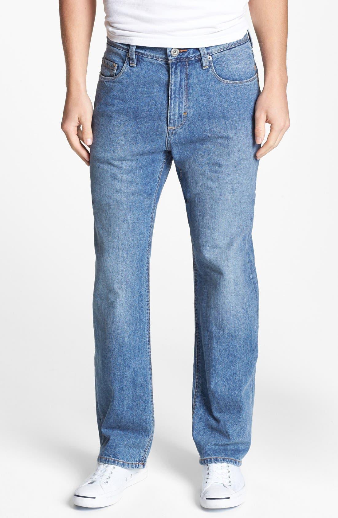 Main Image - Tommy Bahama Denim 'Stevie' Standard Fit Jeans (Beach)