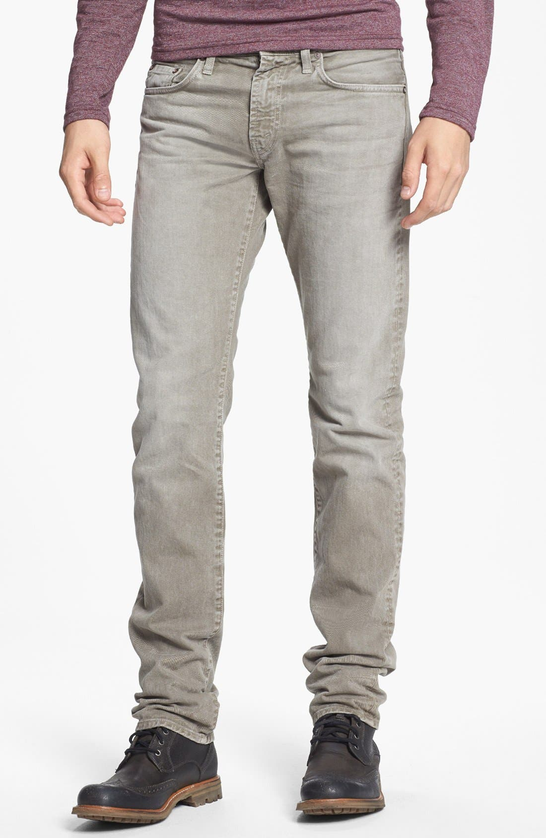 Alternate Image 1 Selected - J Brand 'Kane' Slim Fit Jeans (Washed Boulder)
