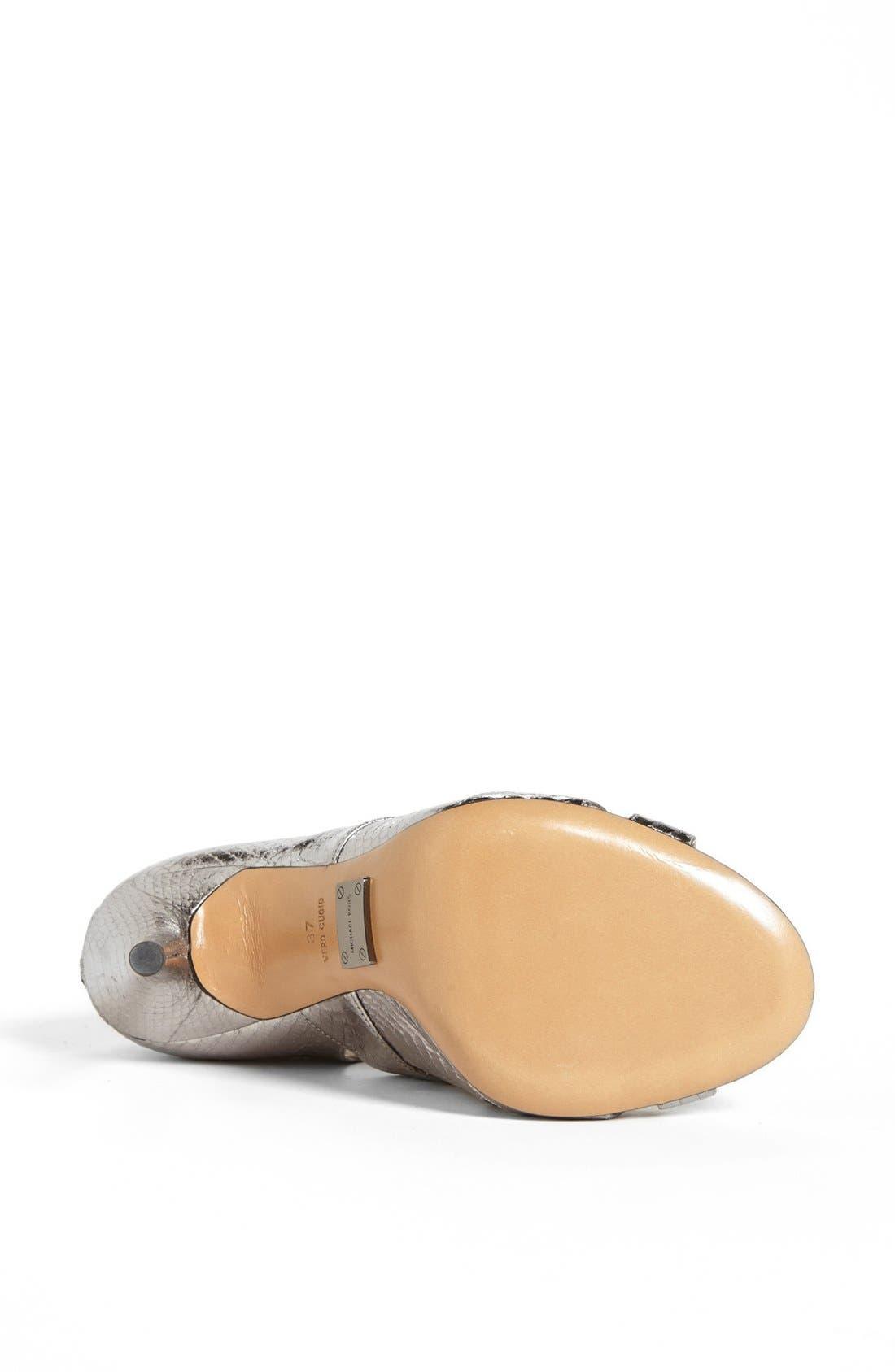 Alternate Image 4  - Michael Kors 'Casey' Genuine Snakeskin Sandal