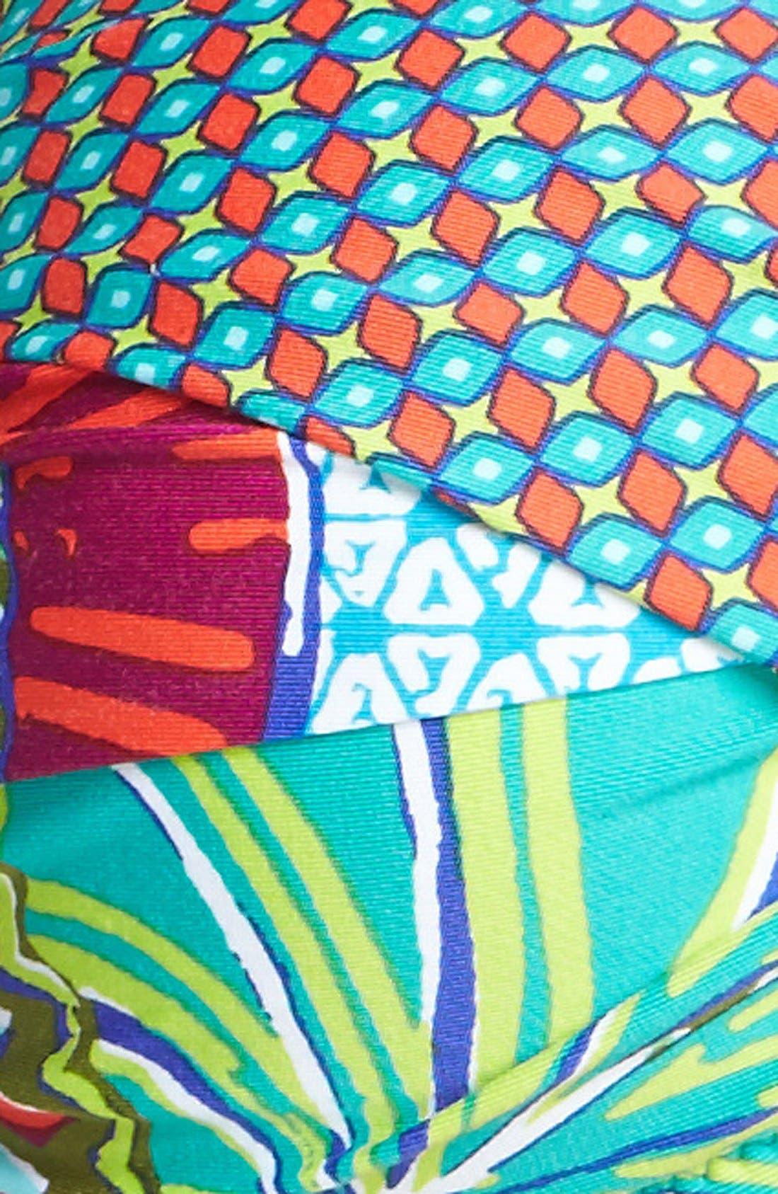 Alternate Image 5  - Trina Turk 'Zanzibar' Bandeau Bikini Top