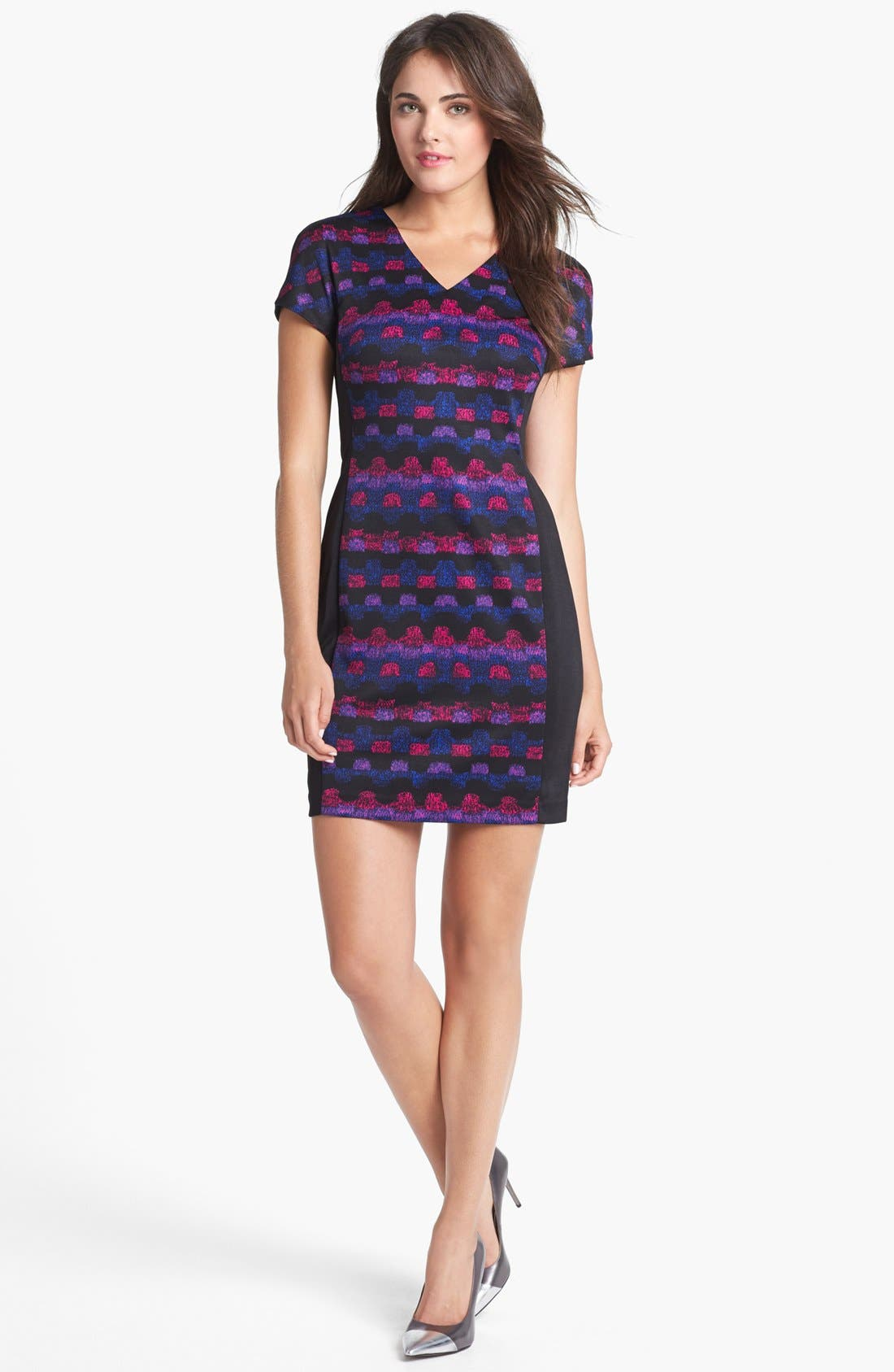 Alternate Image 1 Selected - Marc New York by Andrew Marc Ponte Knit Sheath Dress