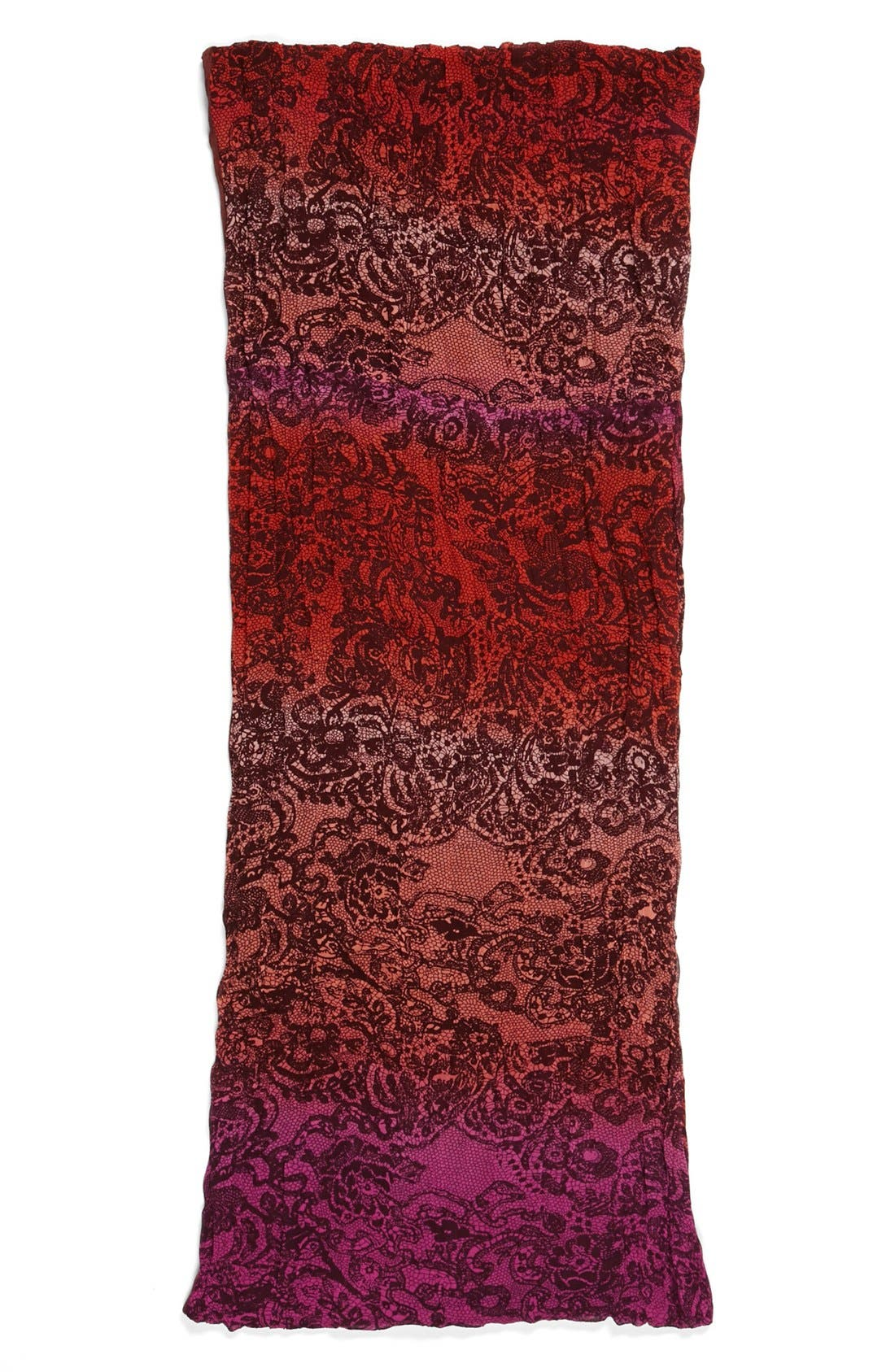 Alternate Image 2  - Collection XIIX Lace Print Infinity Scarf