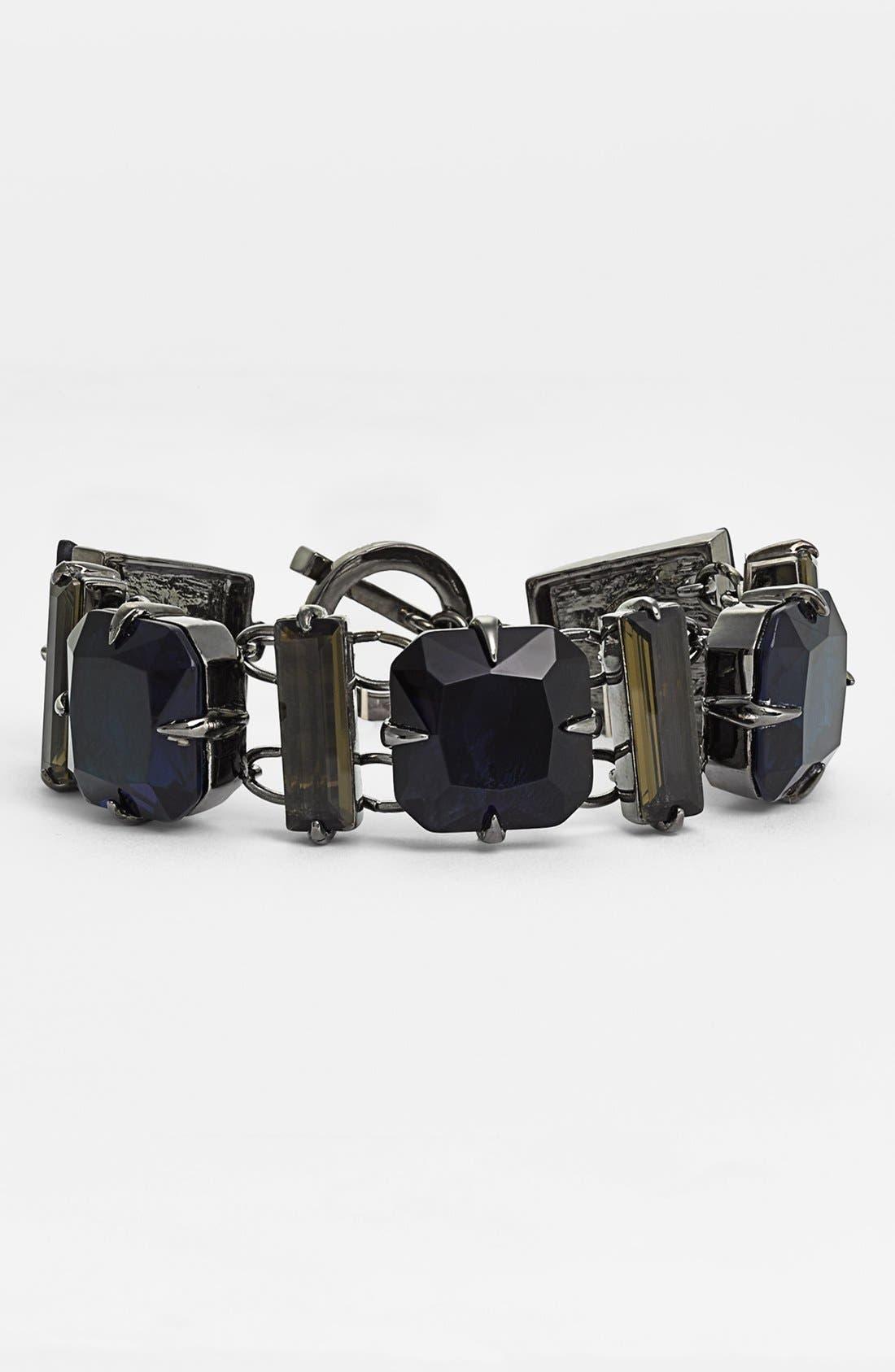 Alternate Image 1 Selected - Vince Camuto 'Jewel Purpose' Stone Link Toggle Bracelet