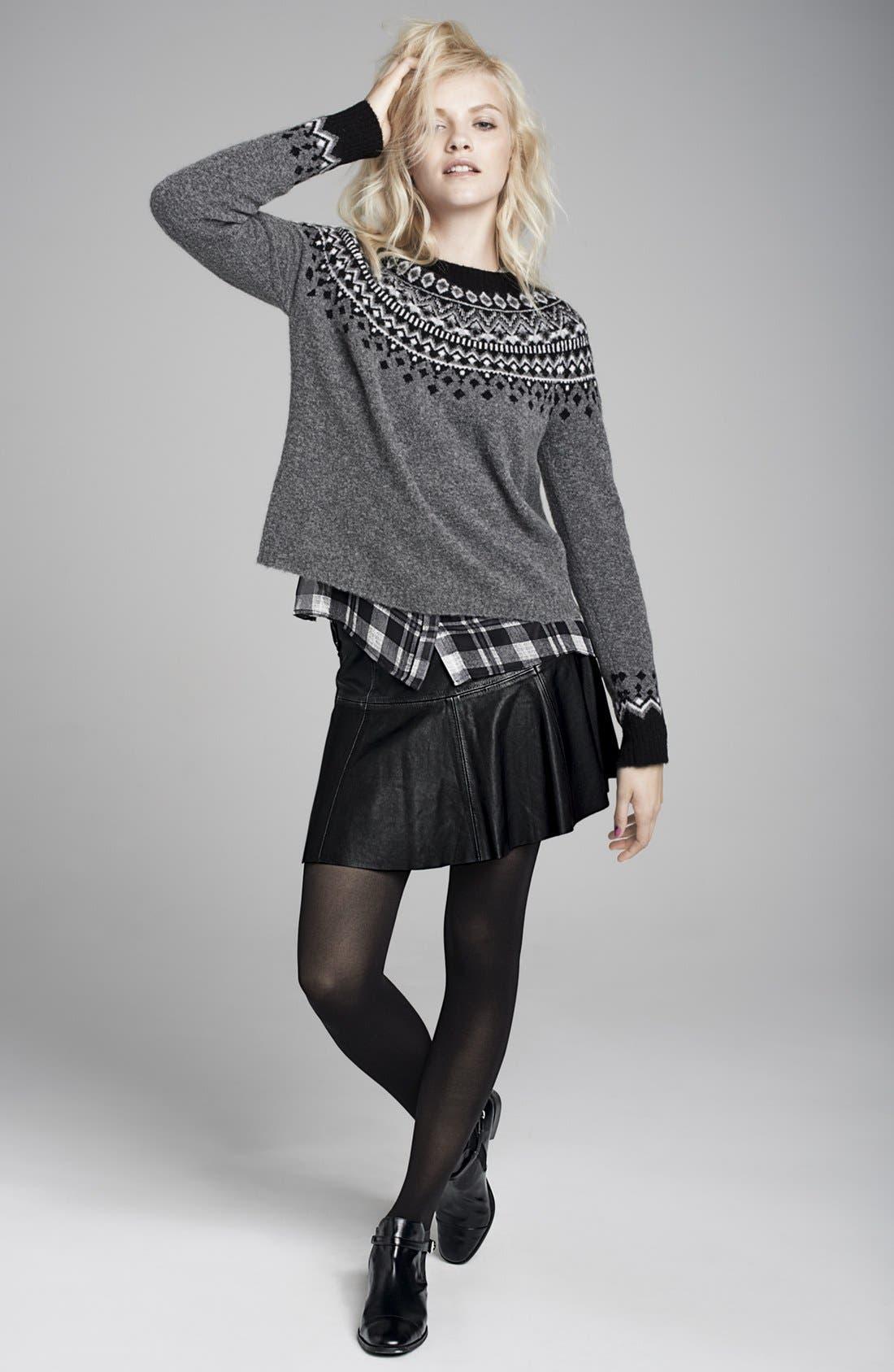 Alternate Image 4  - Joie 'Brigid' Plaid Silk Shirt