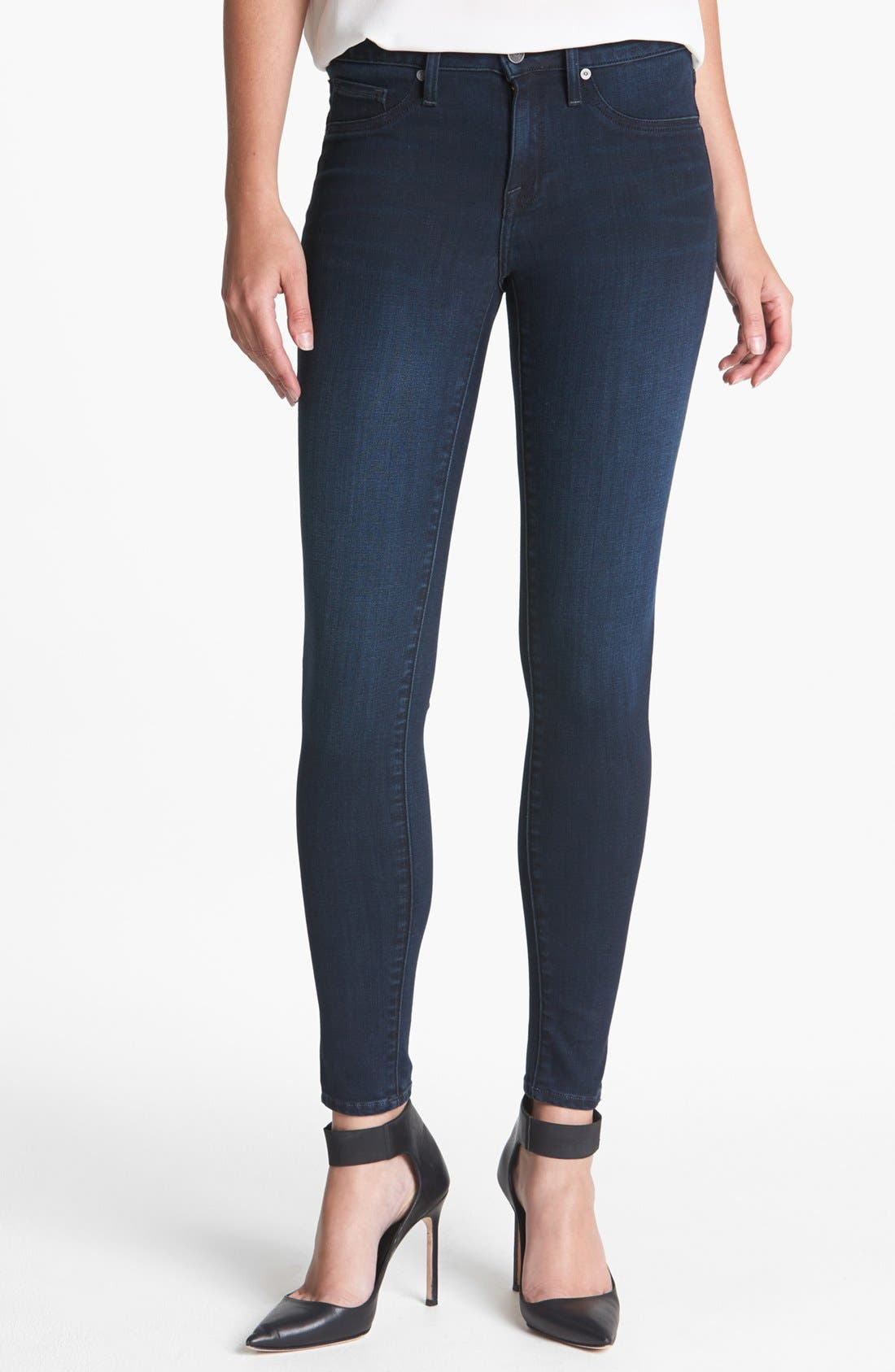 Alternate Image 1 Selected - Joie Ankle Stretch Skinny Jeans (Neptune)