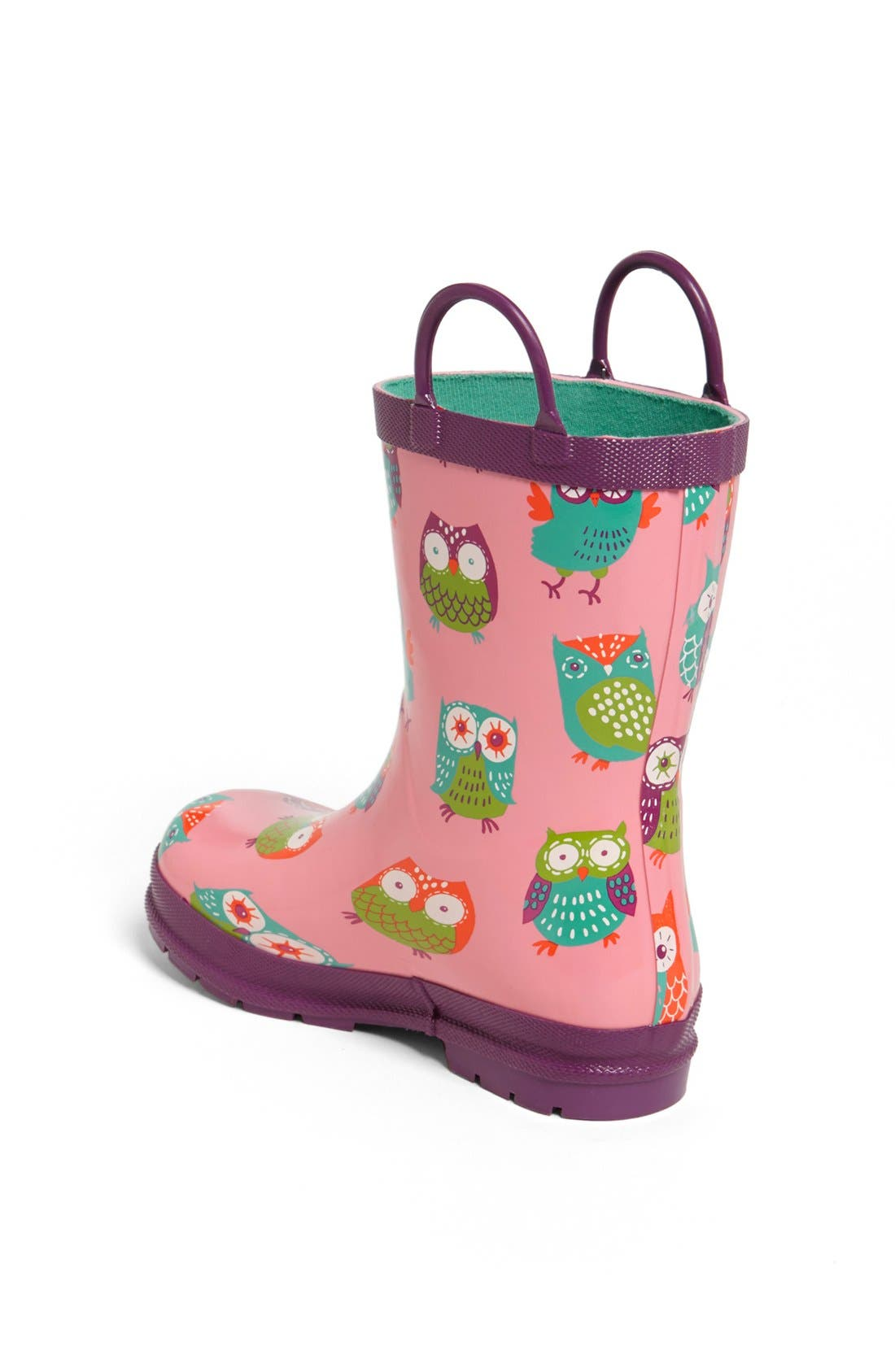 Alternate Image 2  - Hatley 'Party Owls' Rain Boot (Walker, Toddler & Little Kid)