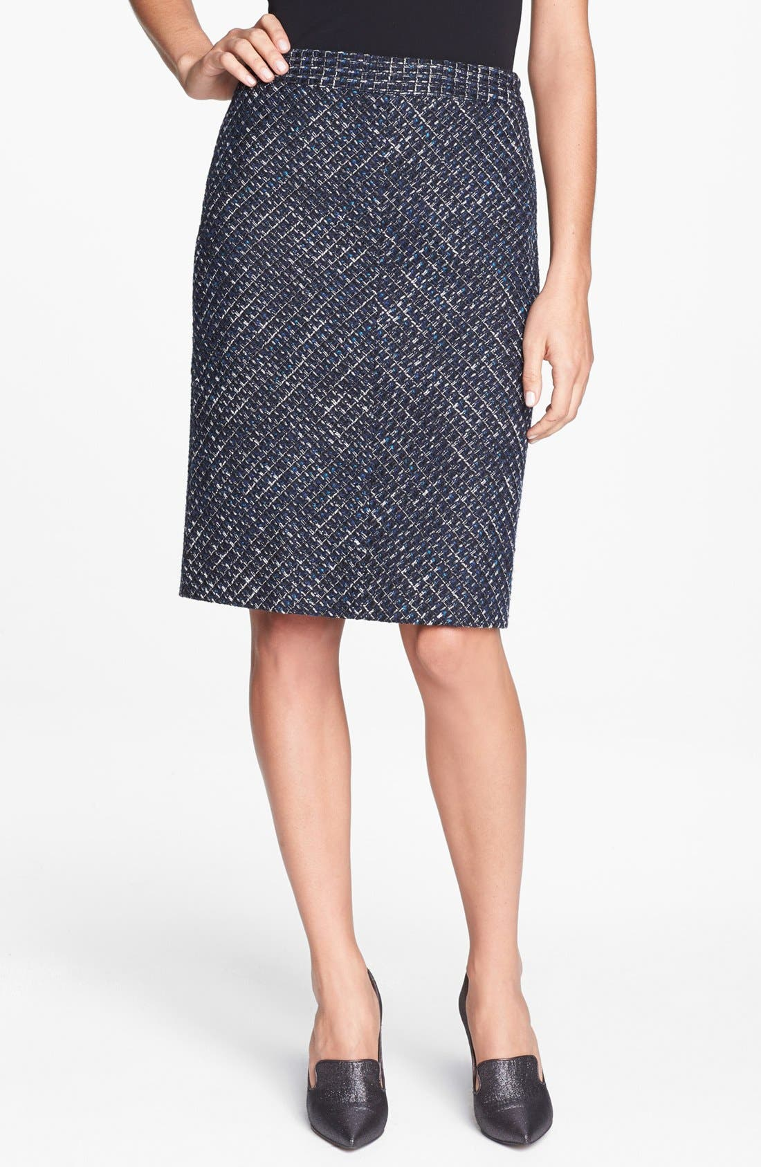 Alternate Image 1 Selected - Classiques Entier® 'Ambra Weave' Skirt