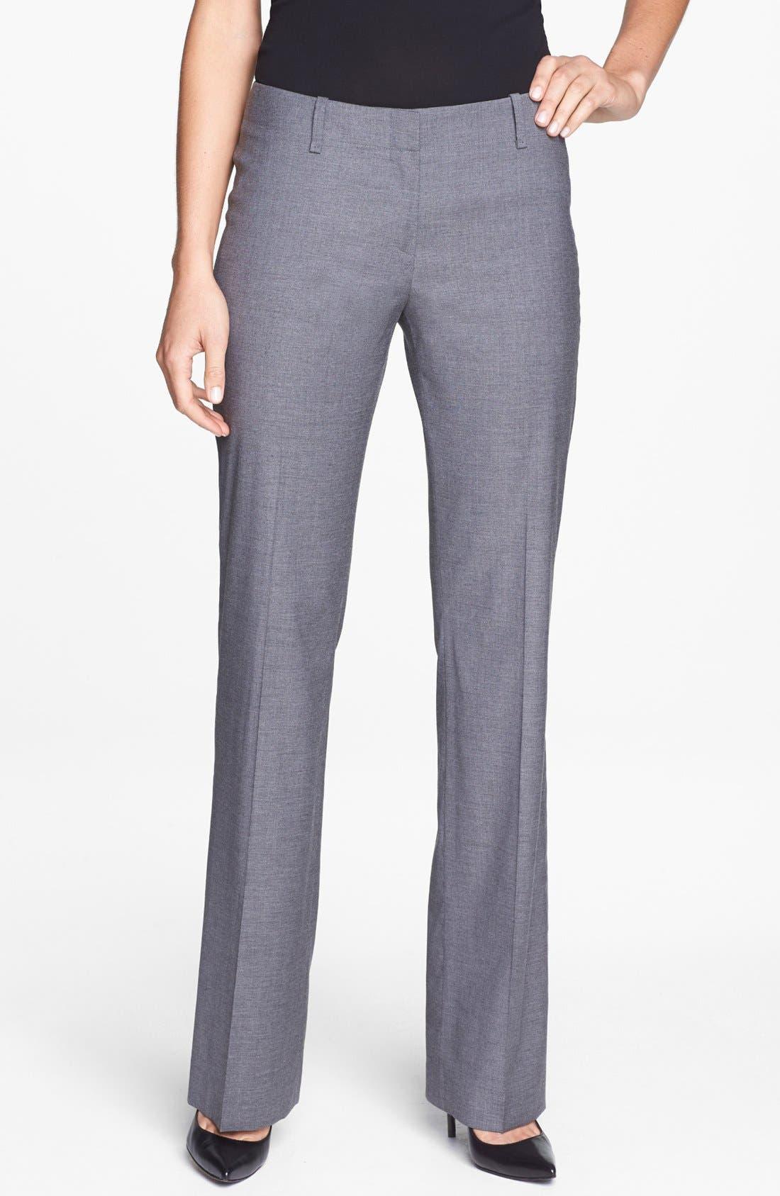 Alternate Image 1 Selected - BOSS 'Tulia4' Trousers