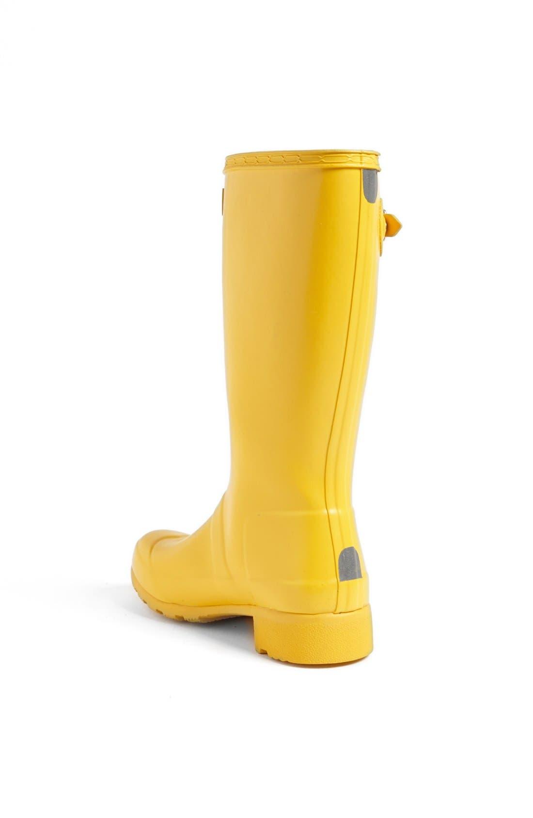Alternate Image 3  - Hunter 'Tour' Packable Rain Boot (Toddler & Little Kid)