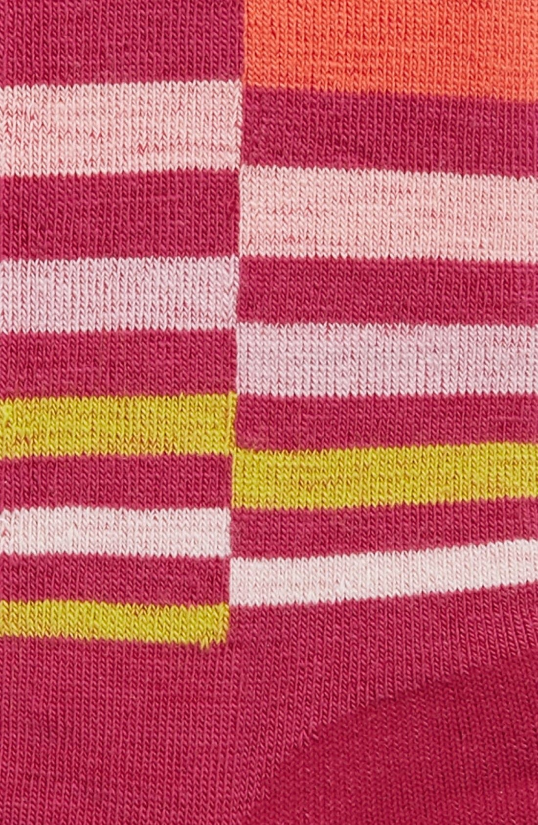 Alternate Image 2  - Smartwool 'Wintersport Stripe' Socks (Little Girls & Big Girls)