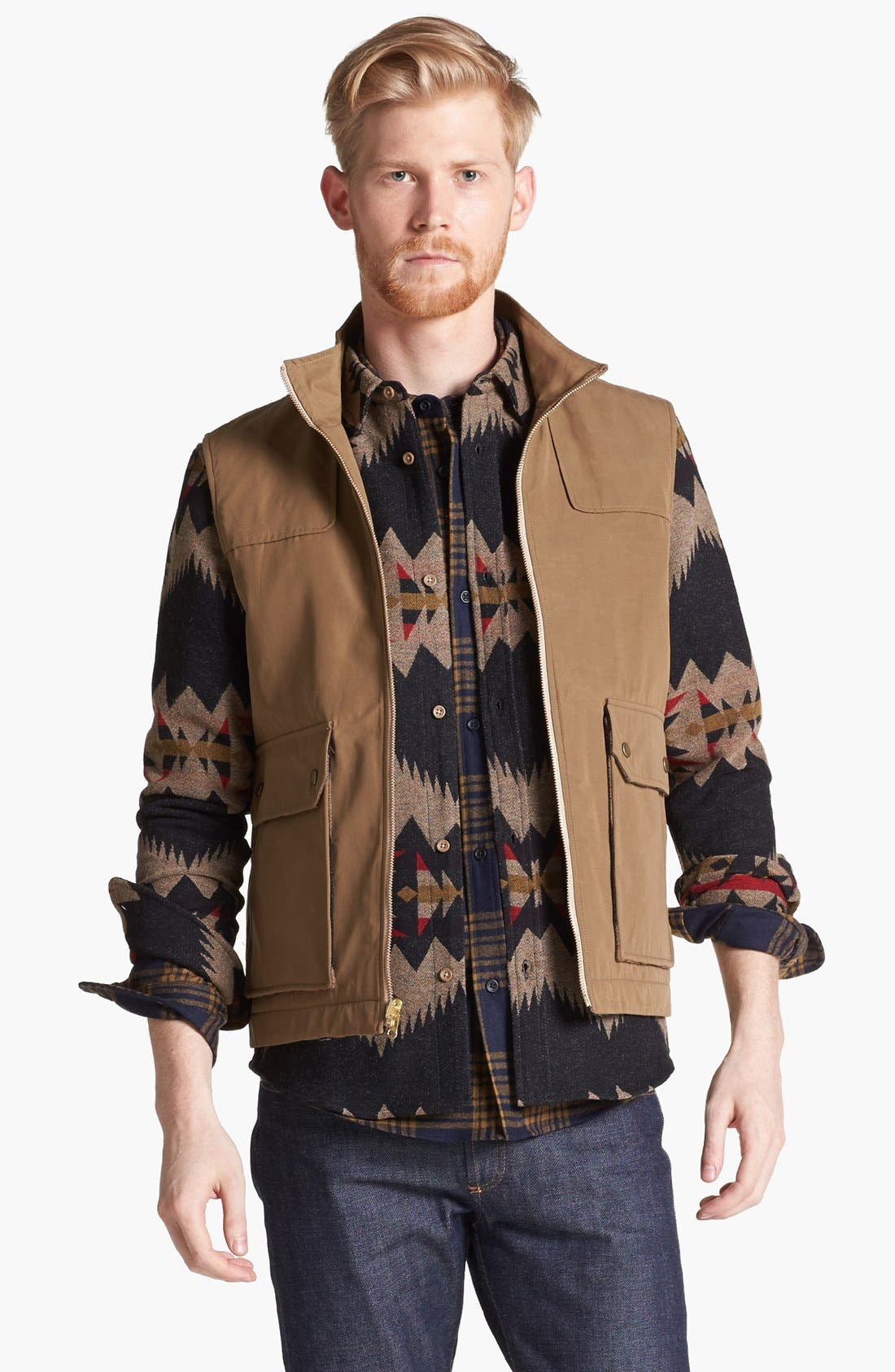 Alternate Image 1 Selected - Pendleton Portland Collection 'Pinehurst' Vest