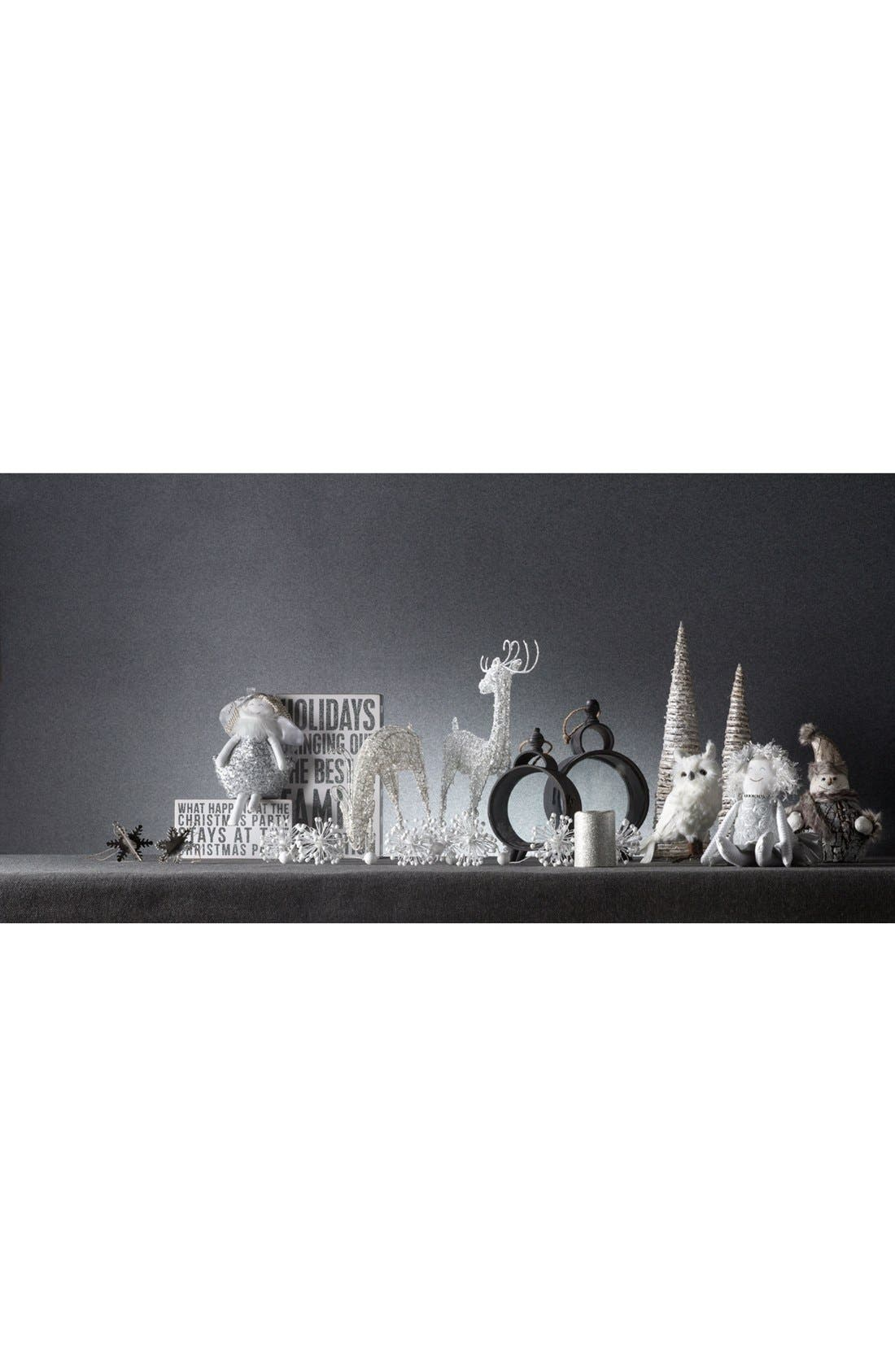 Alternate Image 2  - Melrose Gifts Melted Glitter LED Candle
