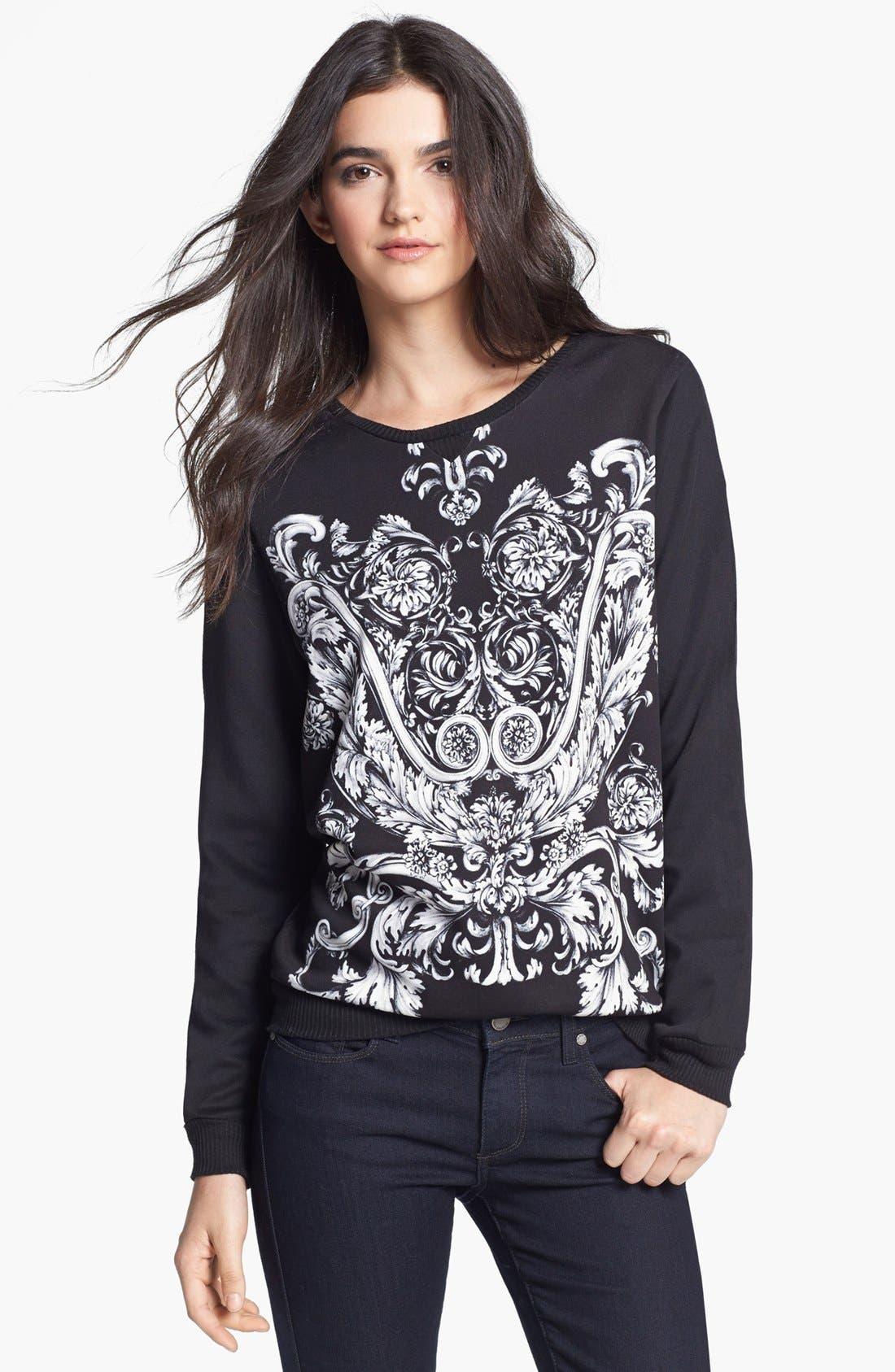 Alternate Image 1 Selected - WAYF 'Baroque' Sweatshirt
