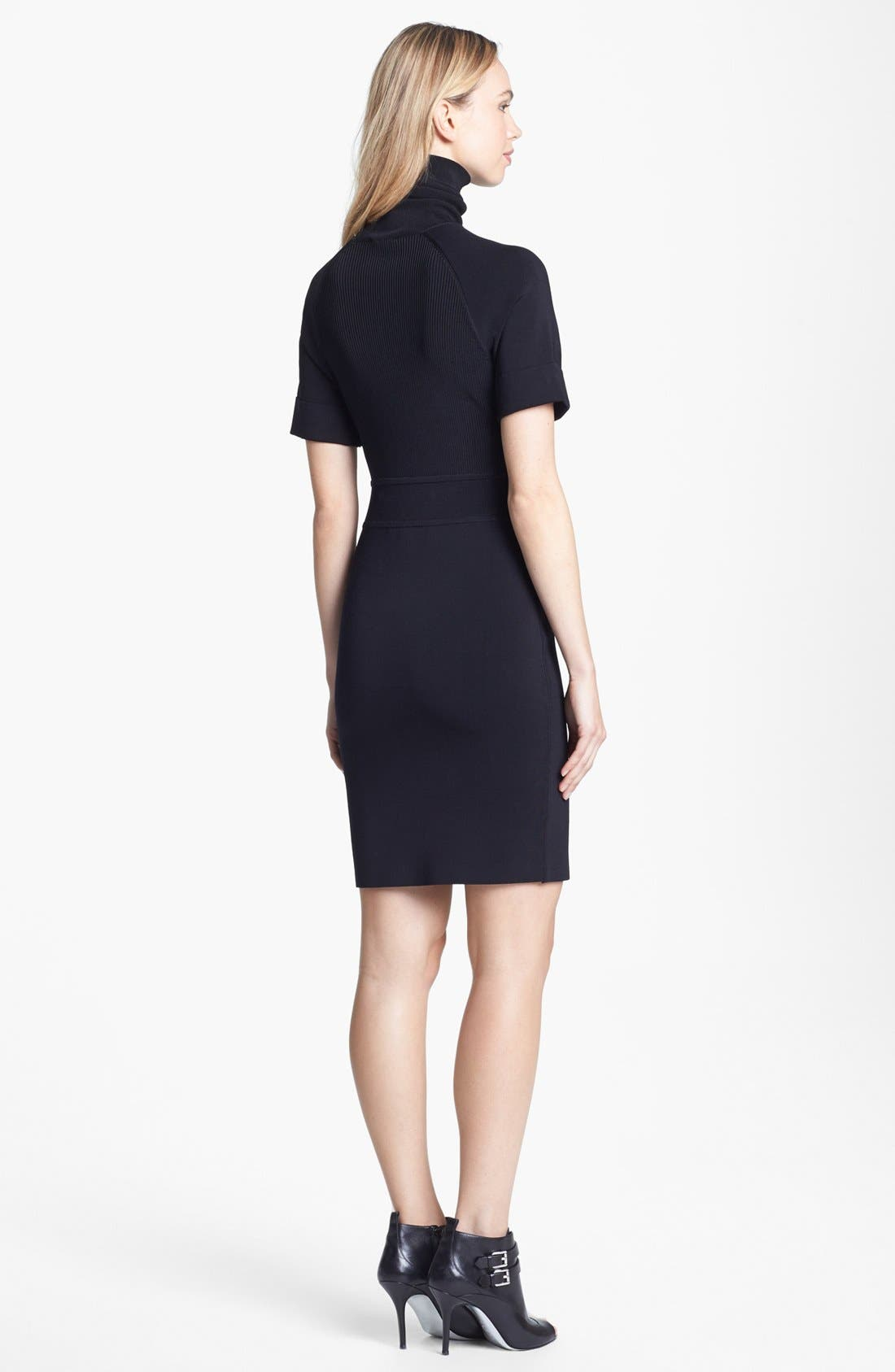 Alternate Image 2  - Vince Camuto Turtleneck Dress