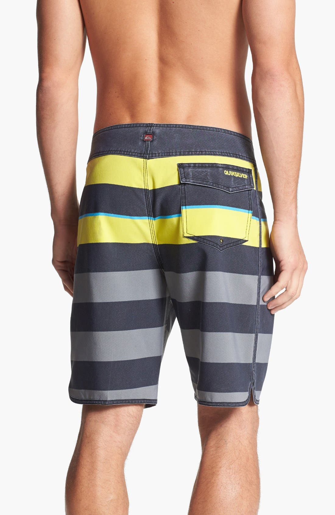 Alternate Image 2  - Quiksilver 'Cypher Briggs' Scalloped Board Shorts
