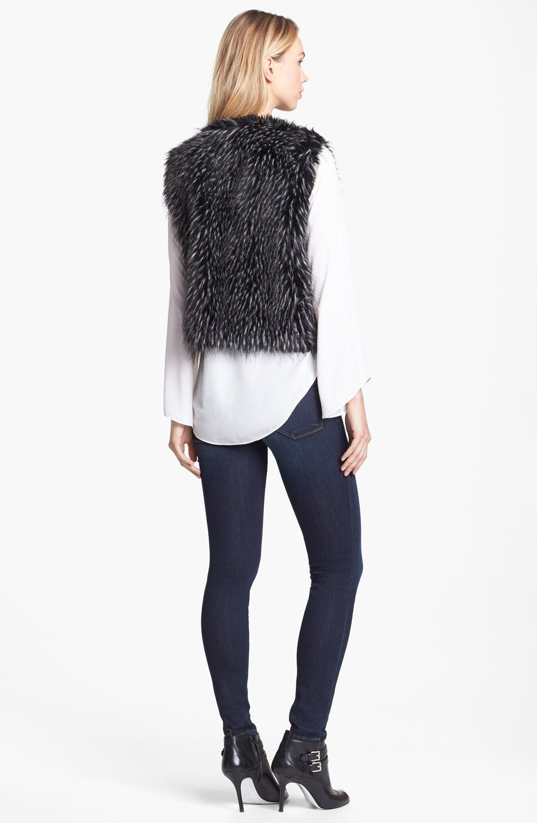 Alternate Image 2  - Vince Camuto Faux Fur Vest