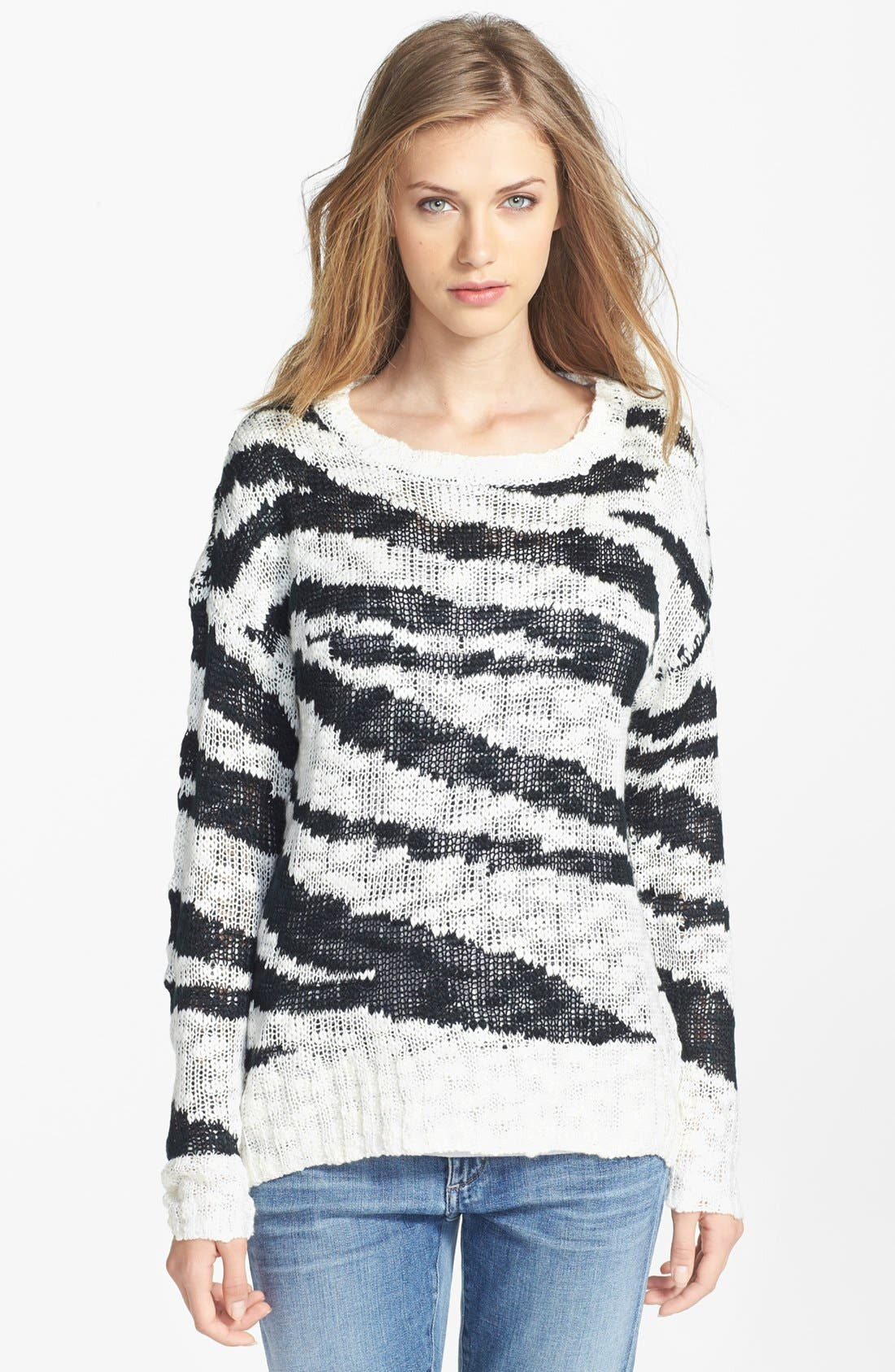 Main Image - Research & Design Scoop Neck Sweater