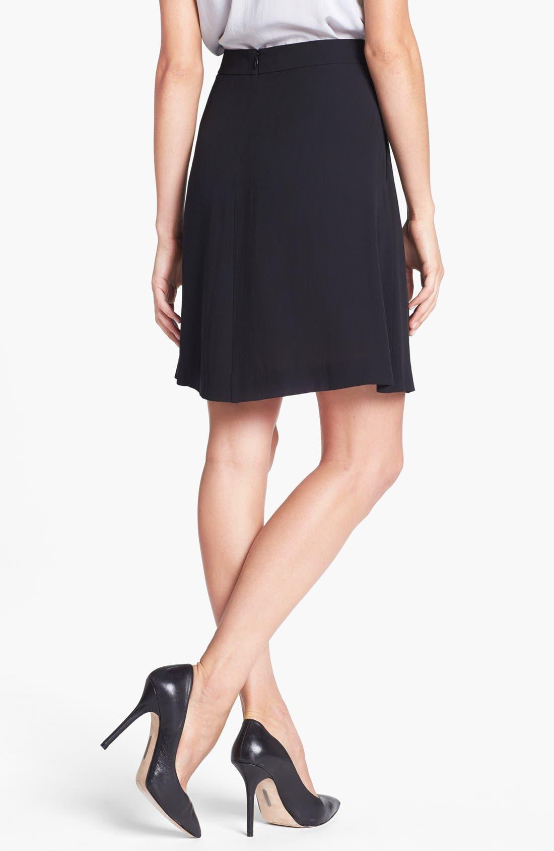 Alternate Image 2  - Eileen Fisher Textured Silk Georgette Skirt