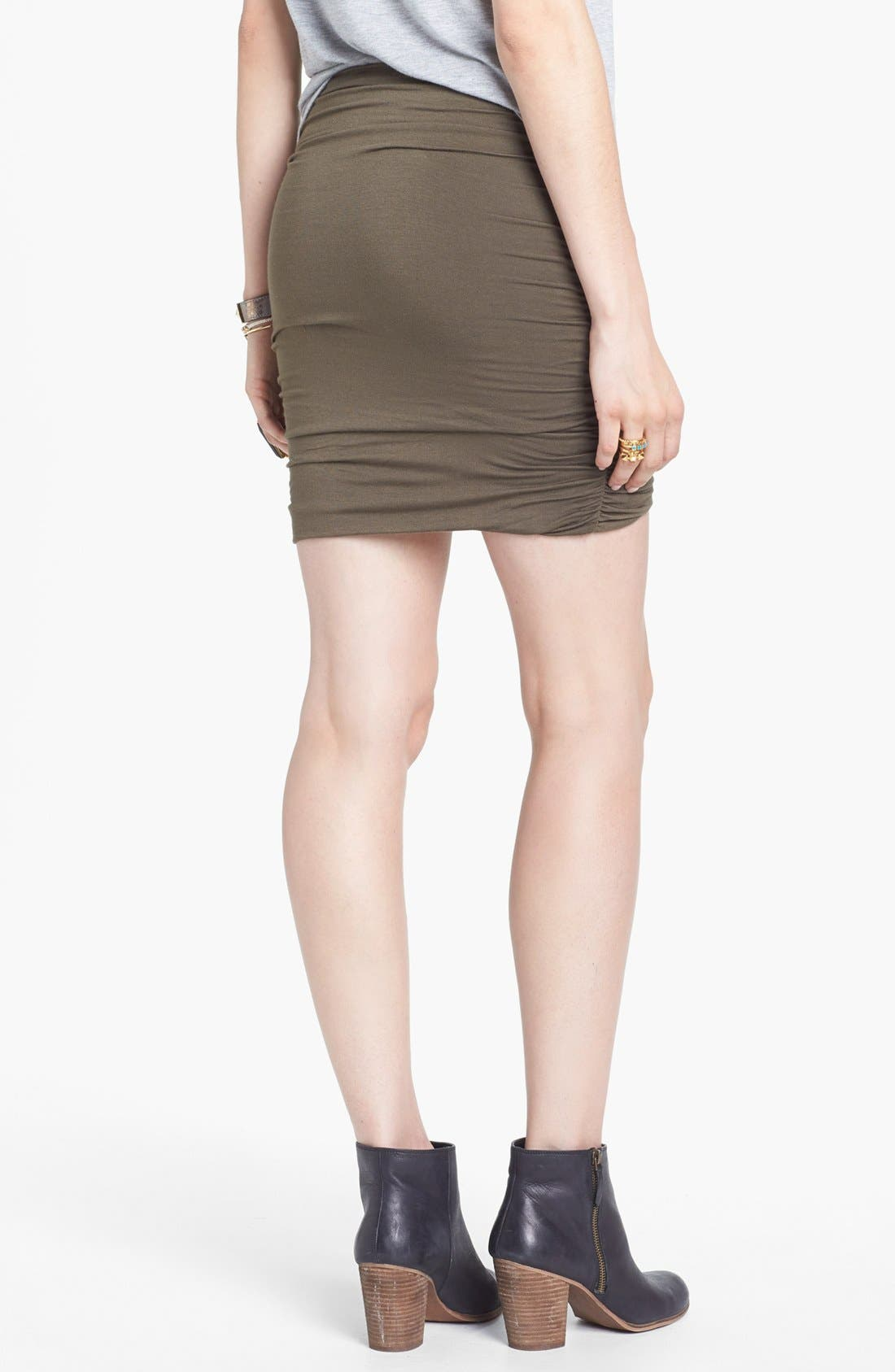 Alternate Image 2  - Free People Ruched Skirt