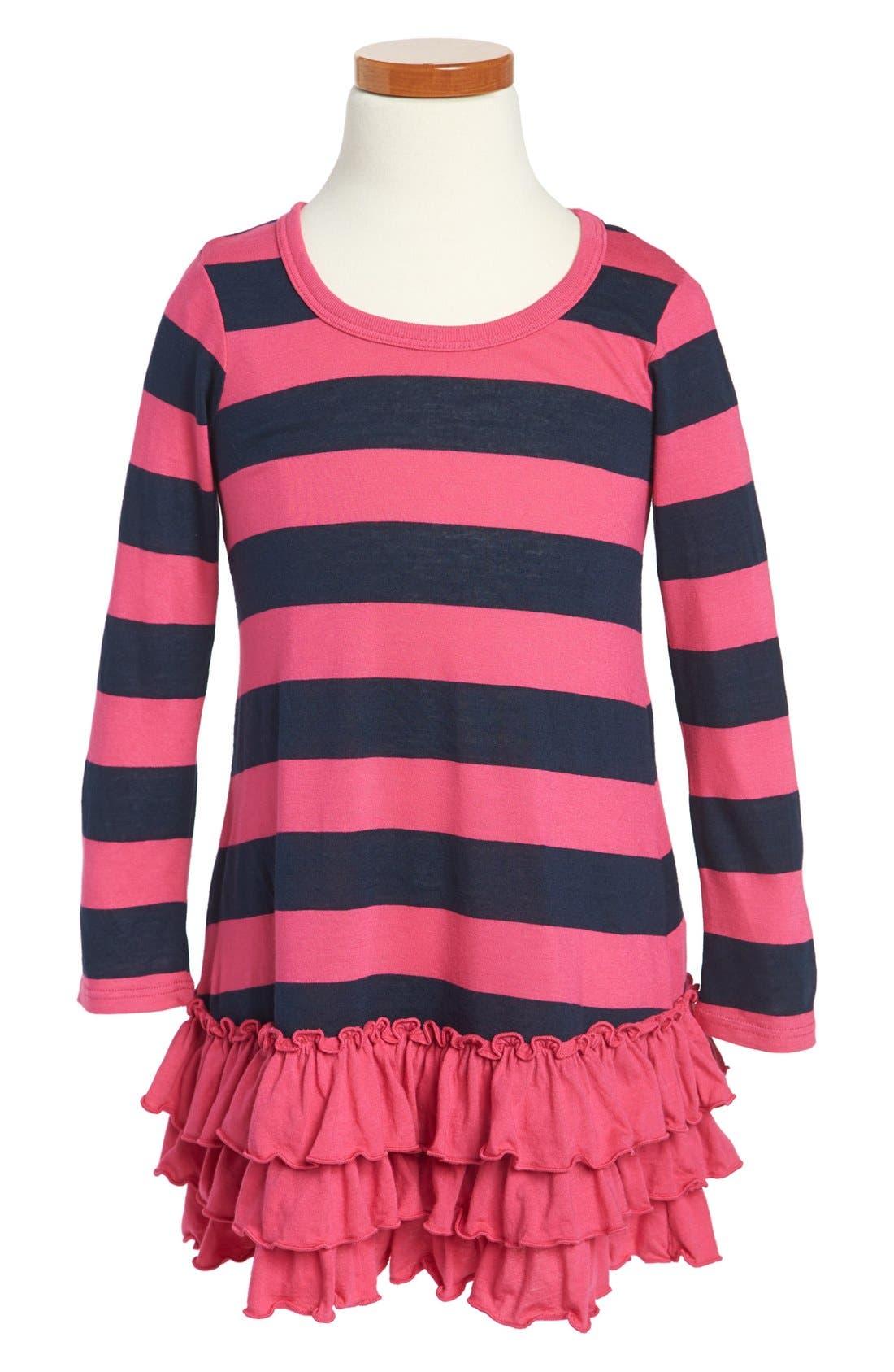 Alternate Image 1 Selected - Splendid Stripe Dress (Little Girls)
