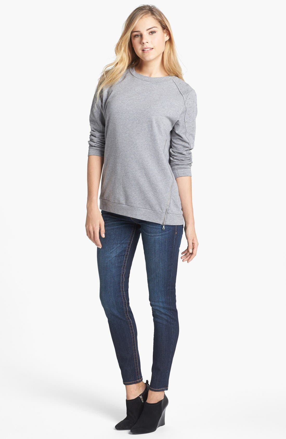 Alternate Image 5  - KUT from the Kloth 'Kate' Skinny Jeans (Cared)