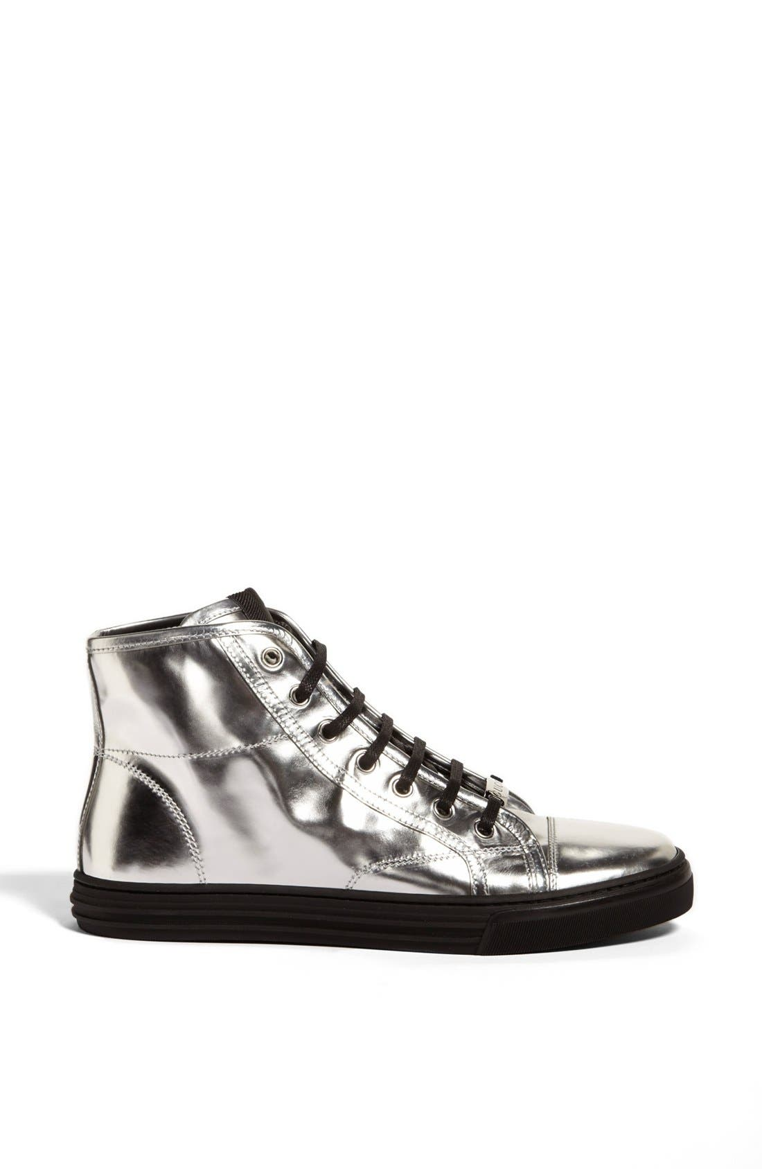 Alternate Image 4  - Gucci 'California' Metallic High Top Sneaker