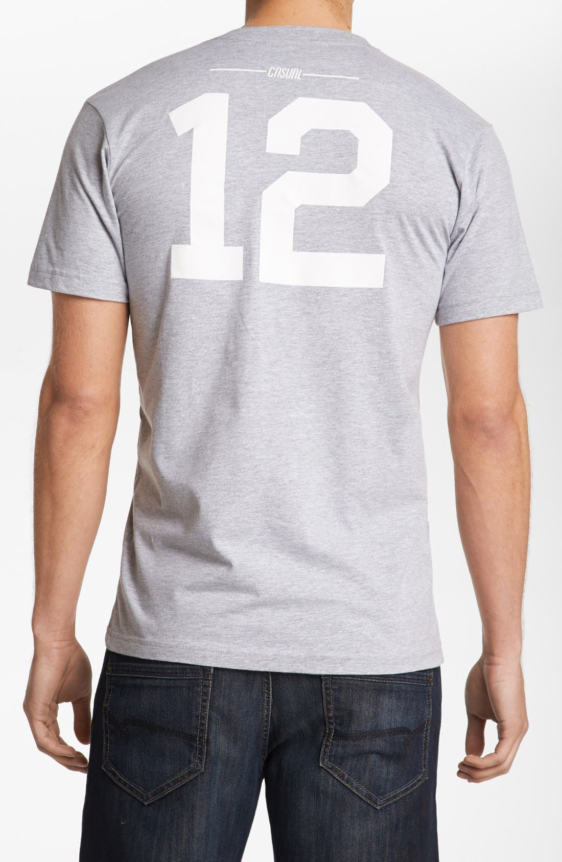 Alternate Image 2  - Casual Industrees '12th Man' T-Shirt