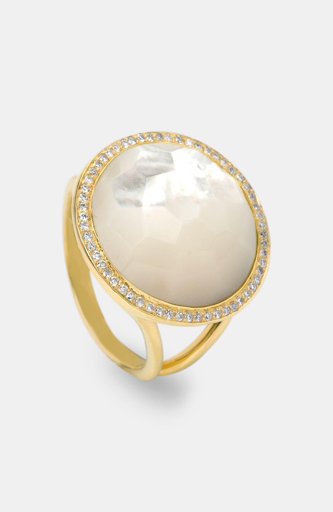 Alternate Image 1 Selected - Ippolita 'Rock Candy - Lollipop' 18k Gold Ring