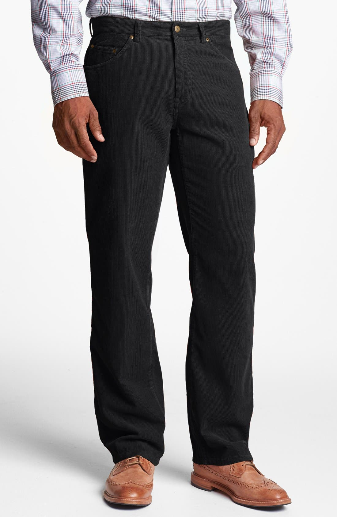 Main Image - Maker & Company Regular Fit Straight Leg Corduroy Pants