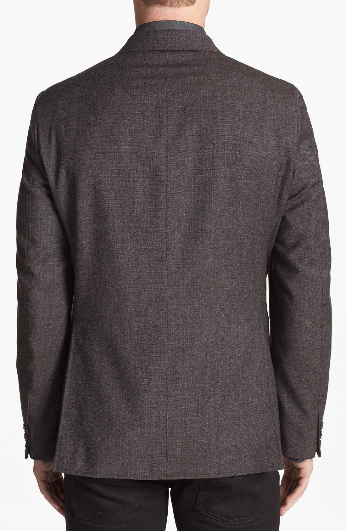 Alternate Image 2  - Vince Camuto Slim Fit Wool Sportcoat