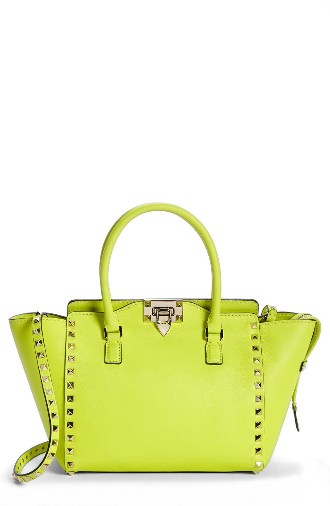 Main Image - Valentino 'Small Rockstud' Double Handle Tote