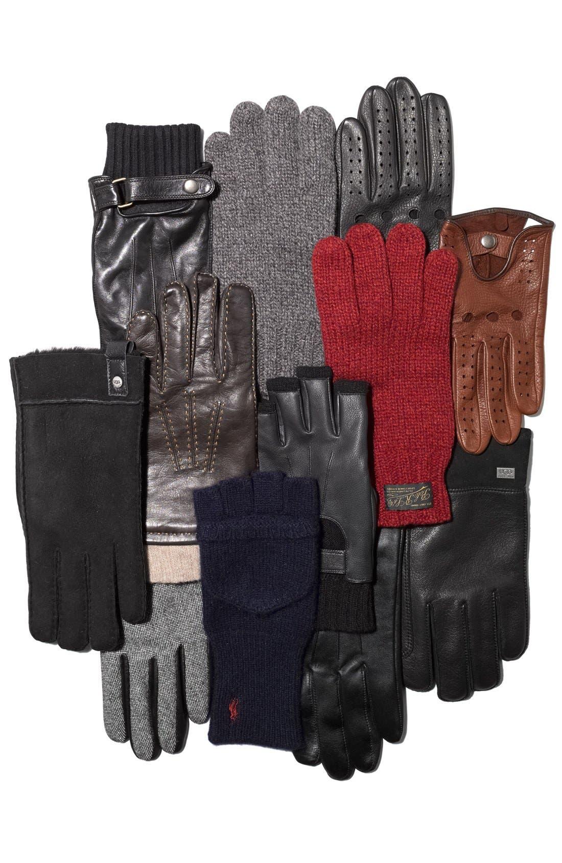 Alternate Image 2  - John Varvatos Star USA Fingerless Gloves