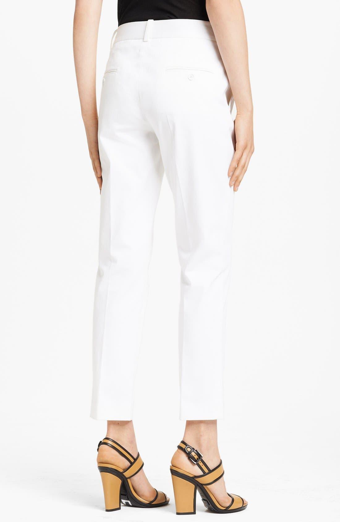Alternate Image 2  - Michael Kors 'Samantha' Skinny Sateen Pants