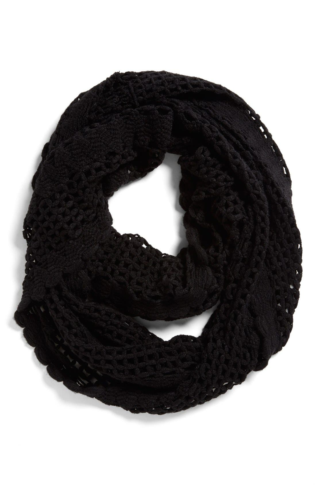 Alternate Image 1 Selected - Tildon Crocheted Infinity Scarf