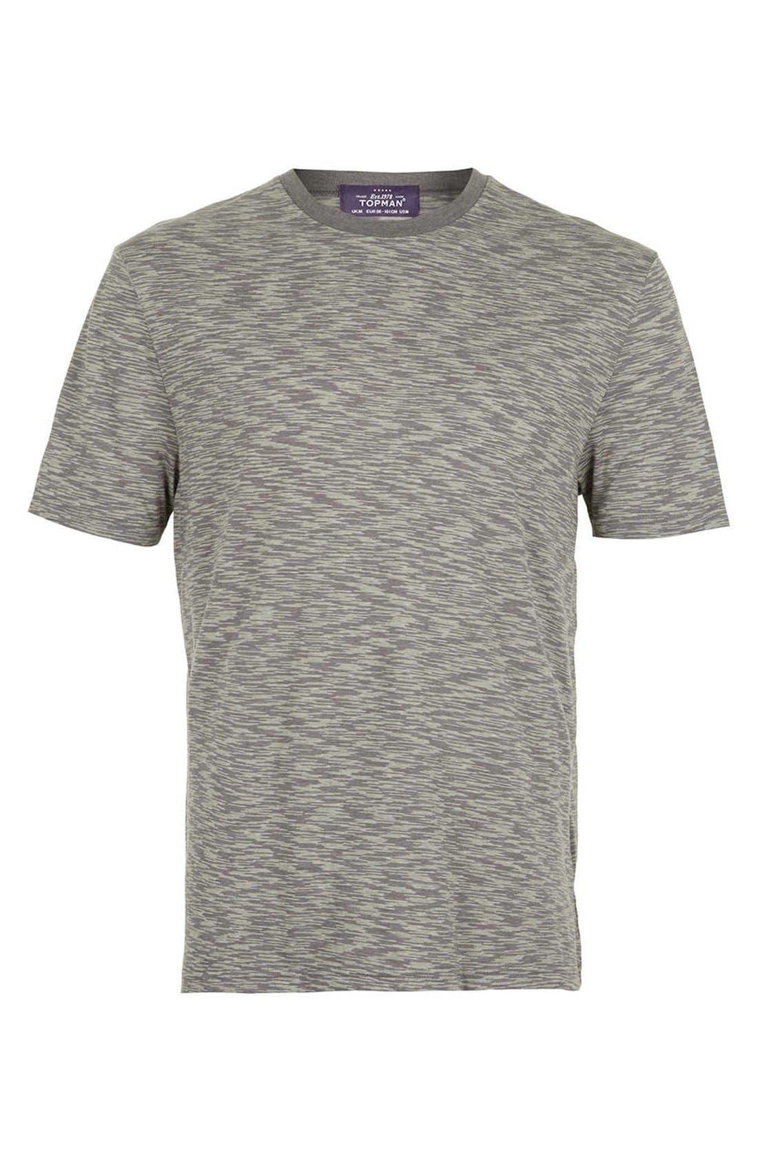 Alternate Image 1 Selected - Topman Space Dye T-Shirt