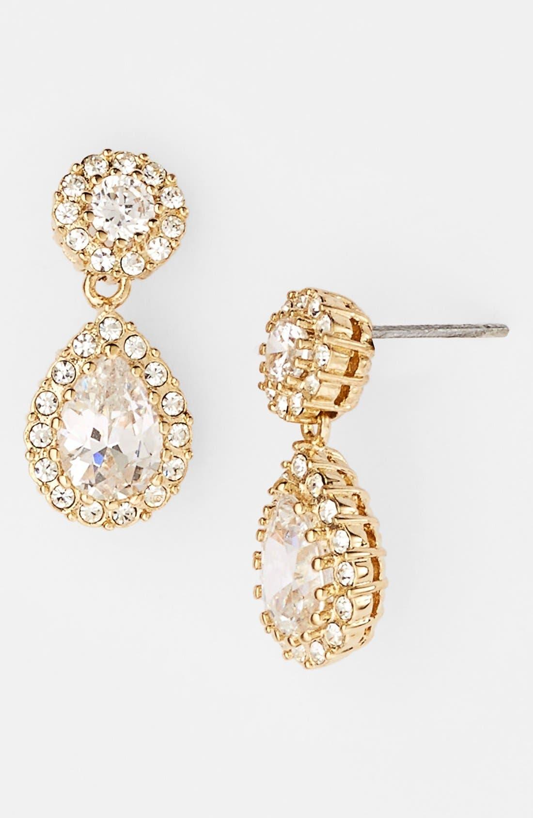 Alternate Image 1 Selected - Nadri Framed Pear Drop Earrings